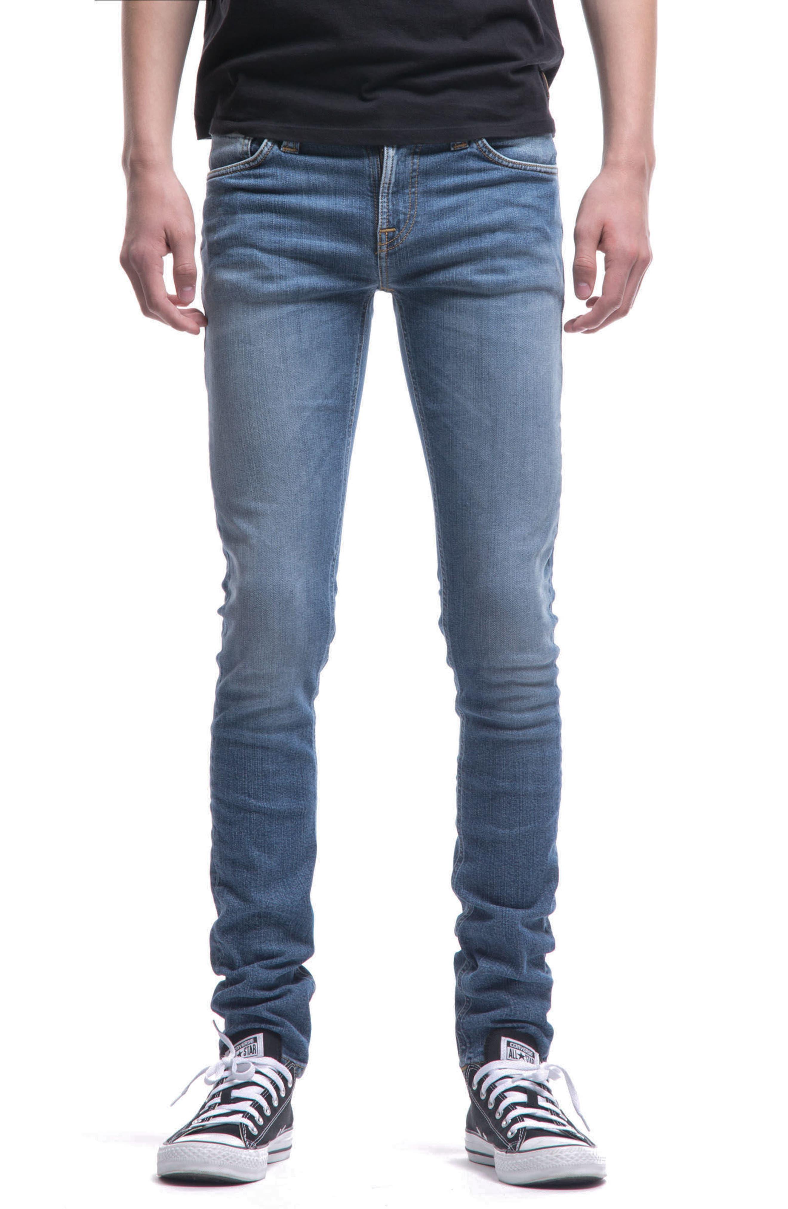 Main Image - Nudie Jeans Skinny Lin Skinny Fit Jeans (Celestial)