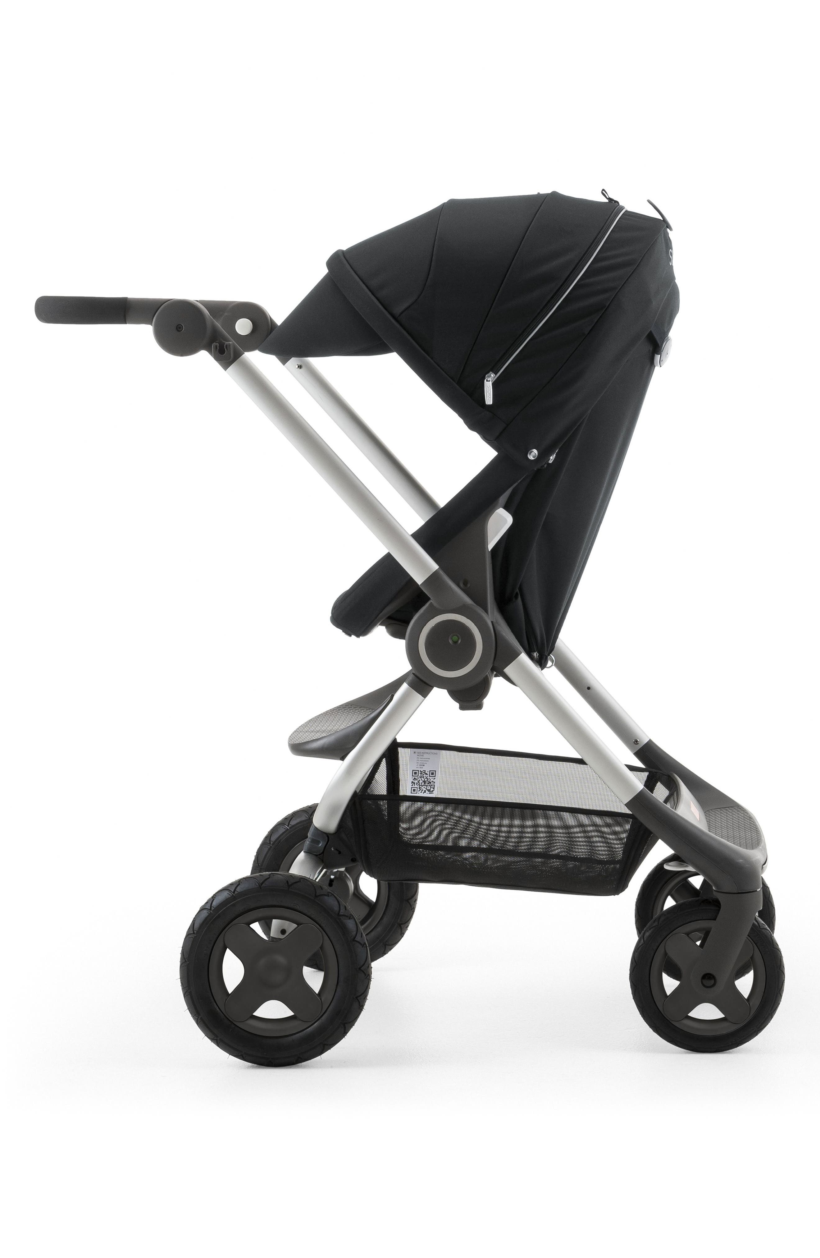 Scoot<sup>™</sup> Complete Stroller,                             Alternate thumbnail 8, color,                             Black