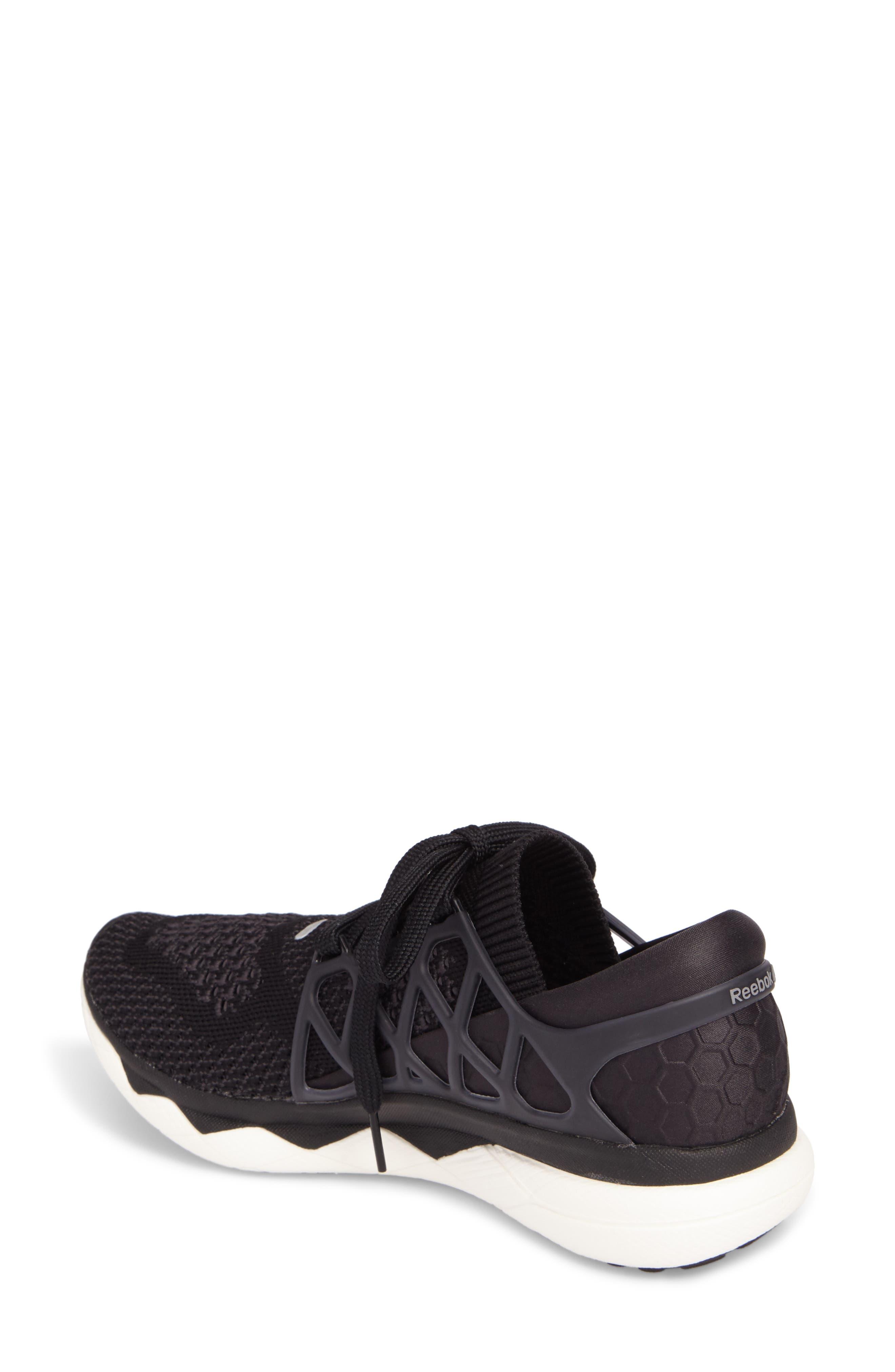 Floatride Run Running Shoe,                             Alternate thumbnail 2, color,                             Black/ Gravel/ White
