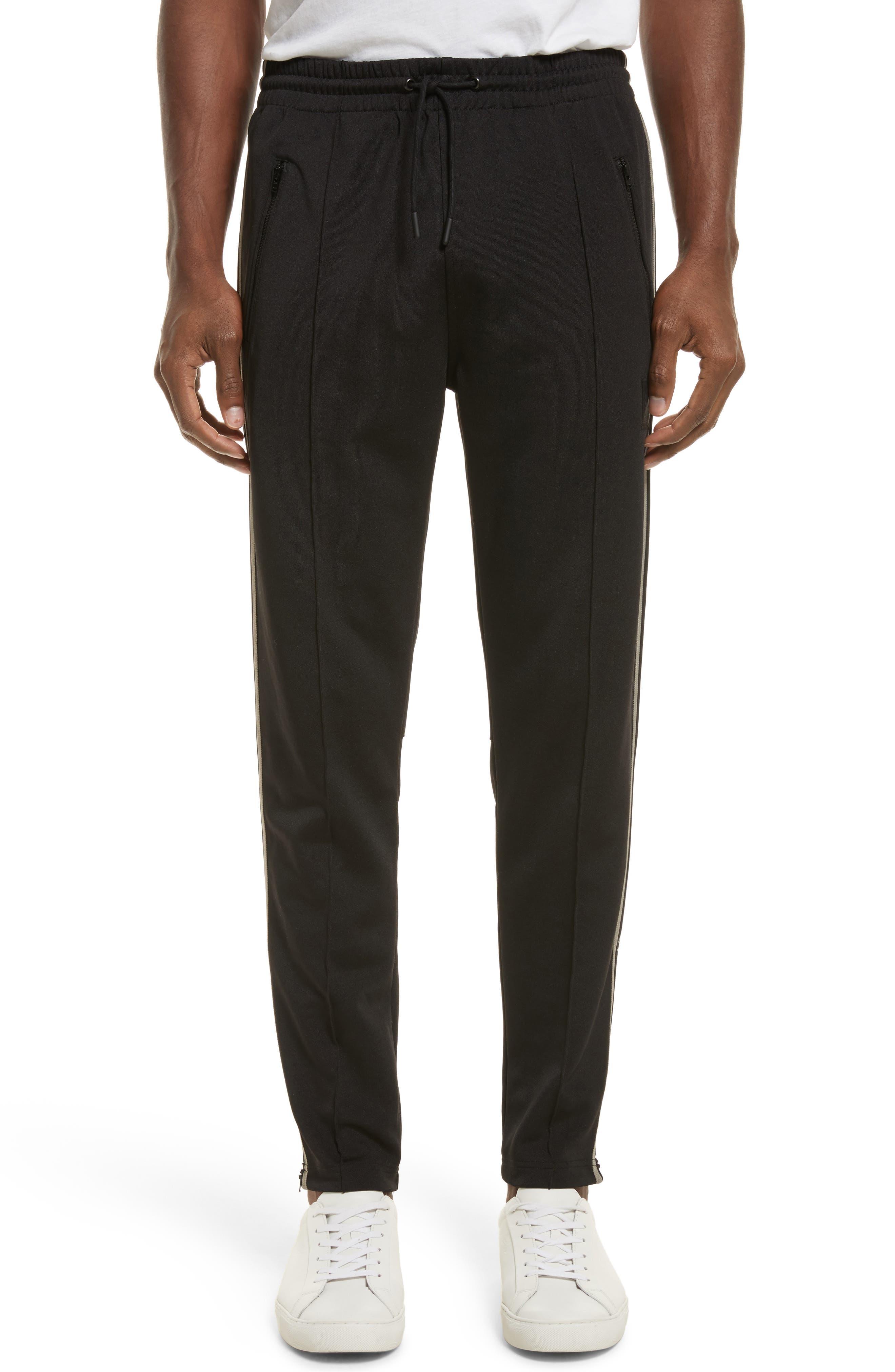 Combrose Track Pants,                         Main,                         color, Black