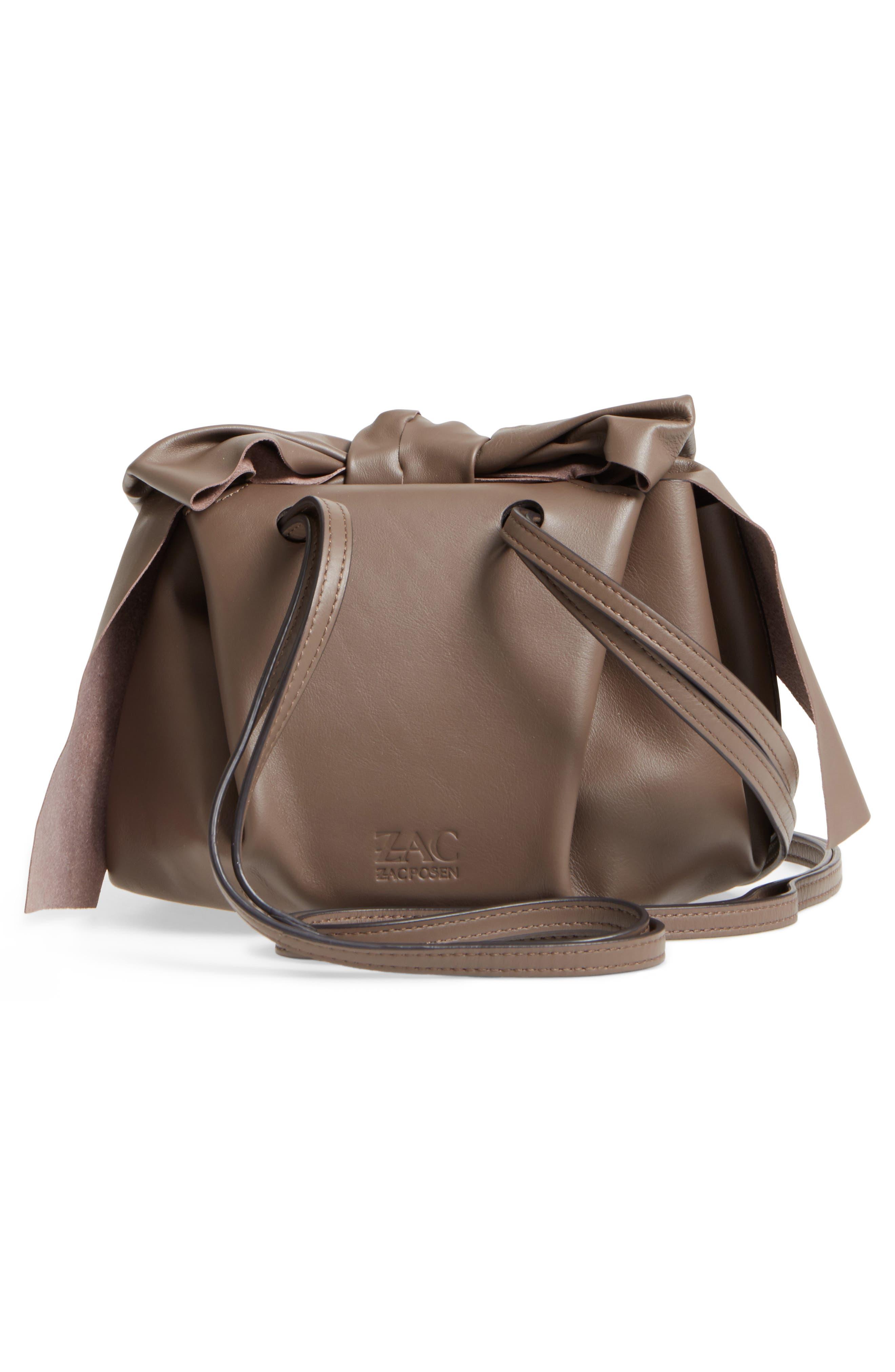 Soiree Leather Crossbody Bag,                             Alternate thumbnail 2, color,                             Mockingbird