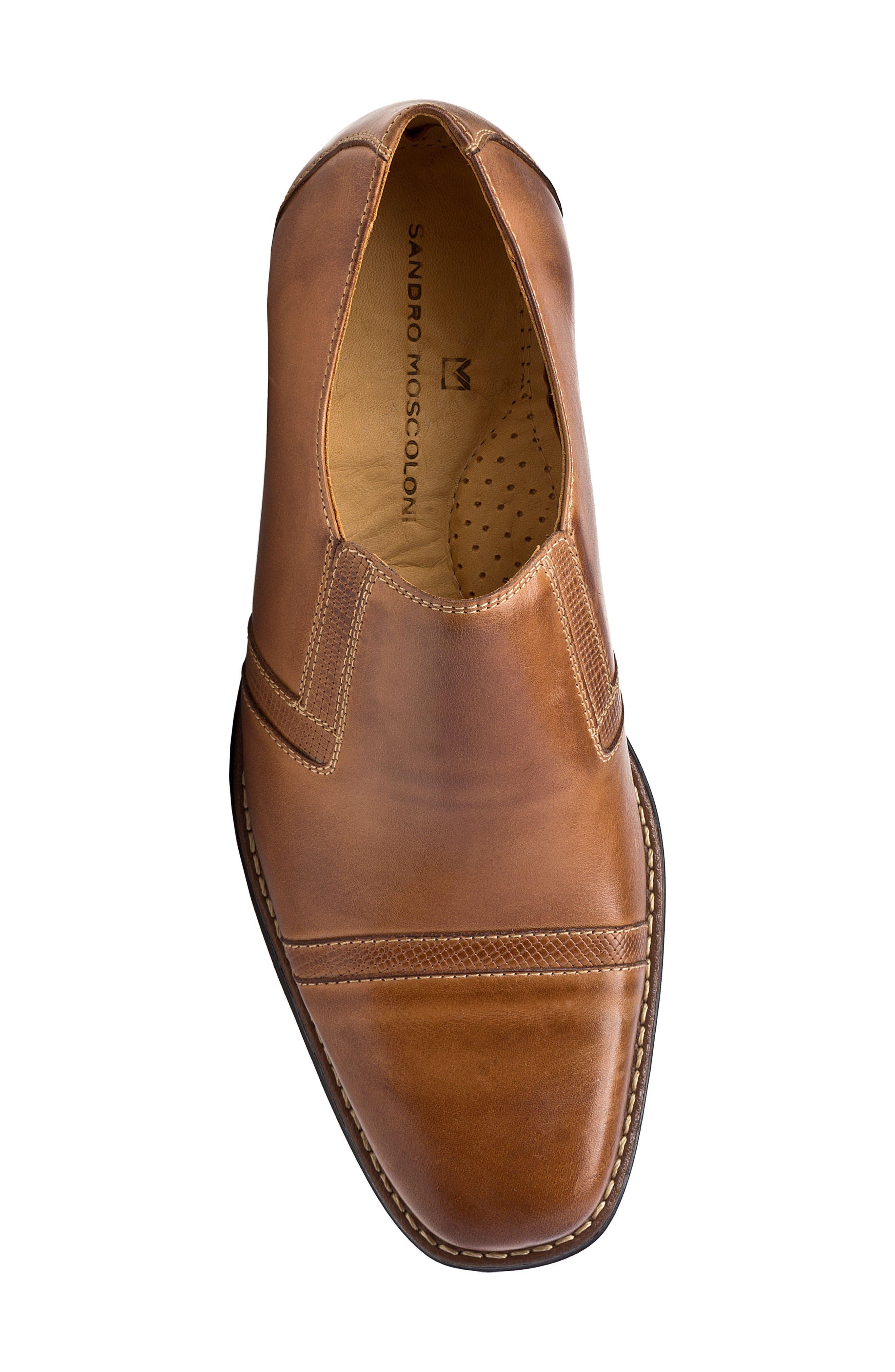 Sebastian Venetian Loafer,                             Alternate thumbnail 5, color,                             Tan Leather