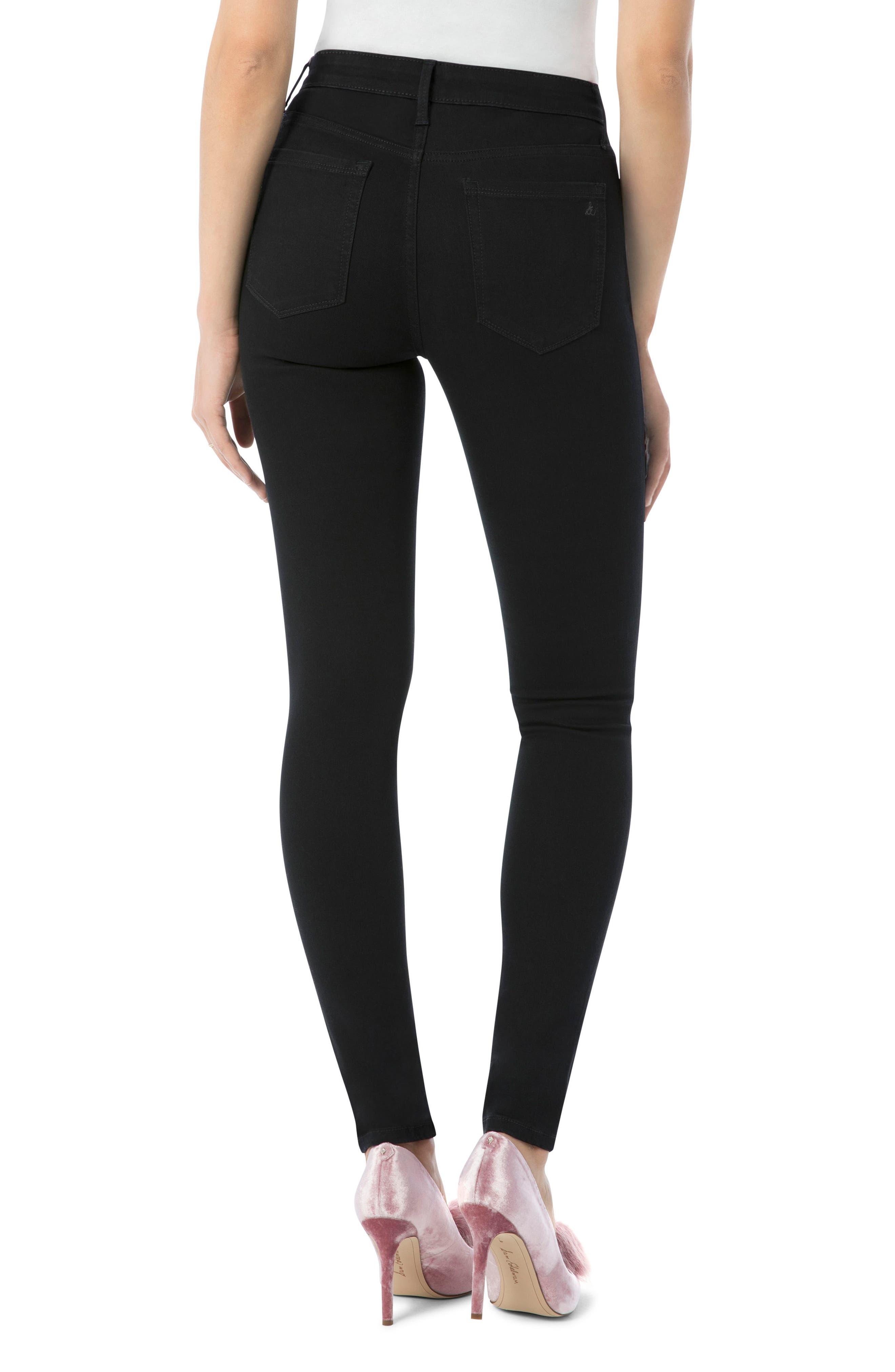 Alternate Image 2  - Sam Edelman Stiletto High Rise Skinny Jeans (Ambrose)