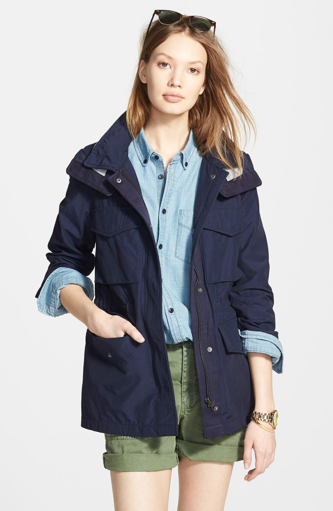 Main Image - Madewell 'Fieldwalk' Hooded Jacket