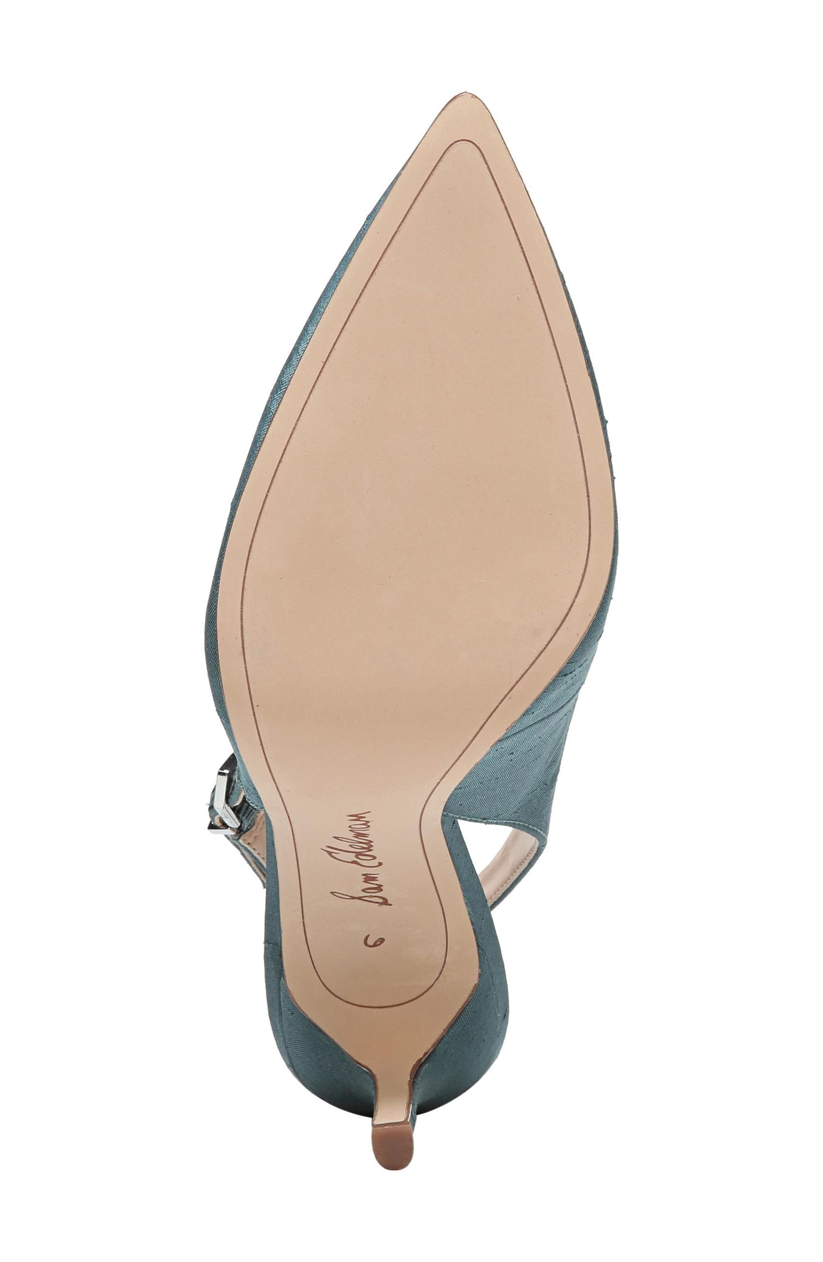 Hastings Slingback Pump,                             Alternate thumbnail 6, color,                             Blue Shadow
