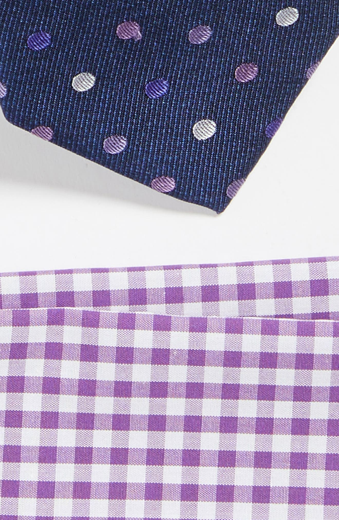 Spree Dots Style Box,                             Alternate thumbnail 2, color,                             Purple