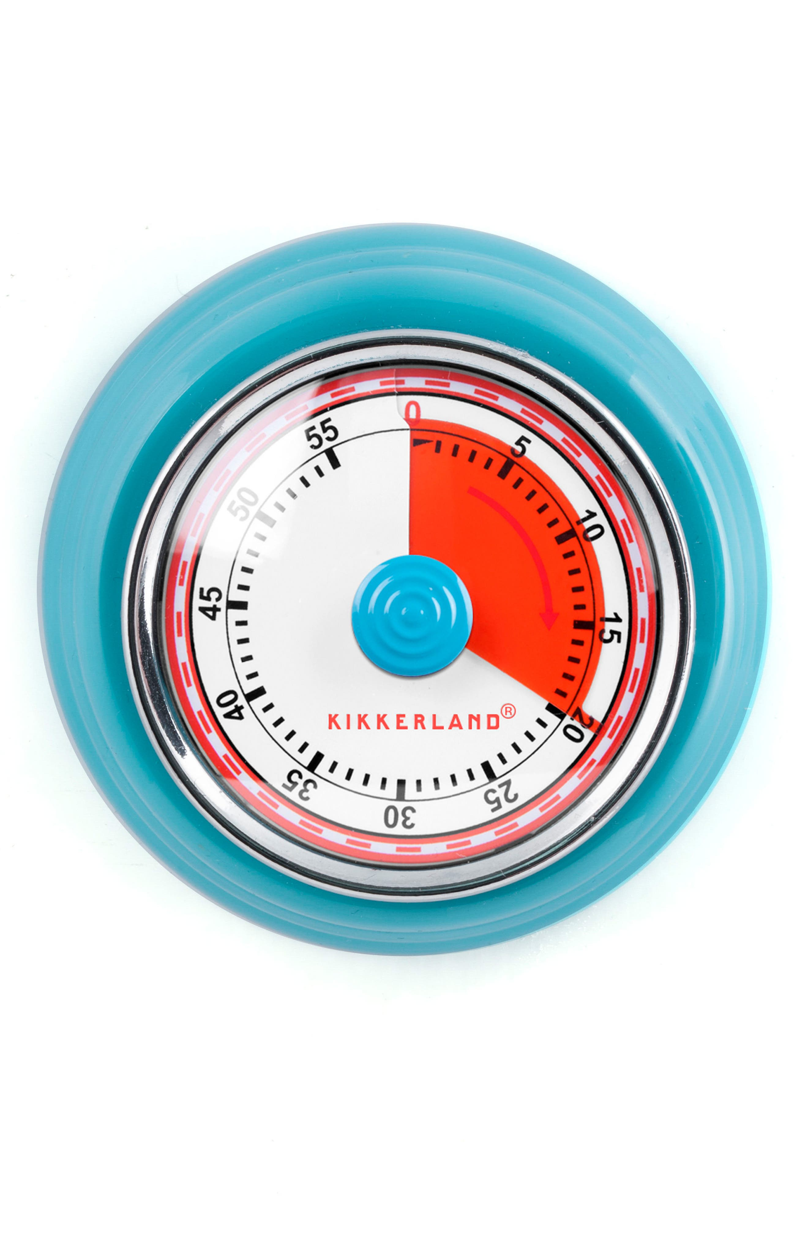 Magnetic Kitchen Timer,                             Main thumbnail 1, color,                             Turquoise