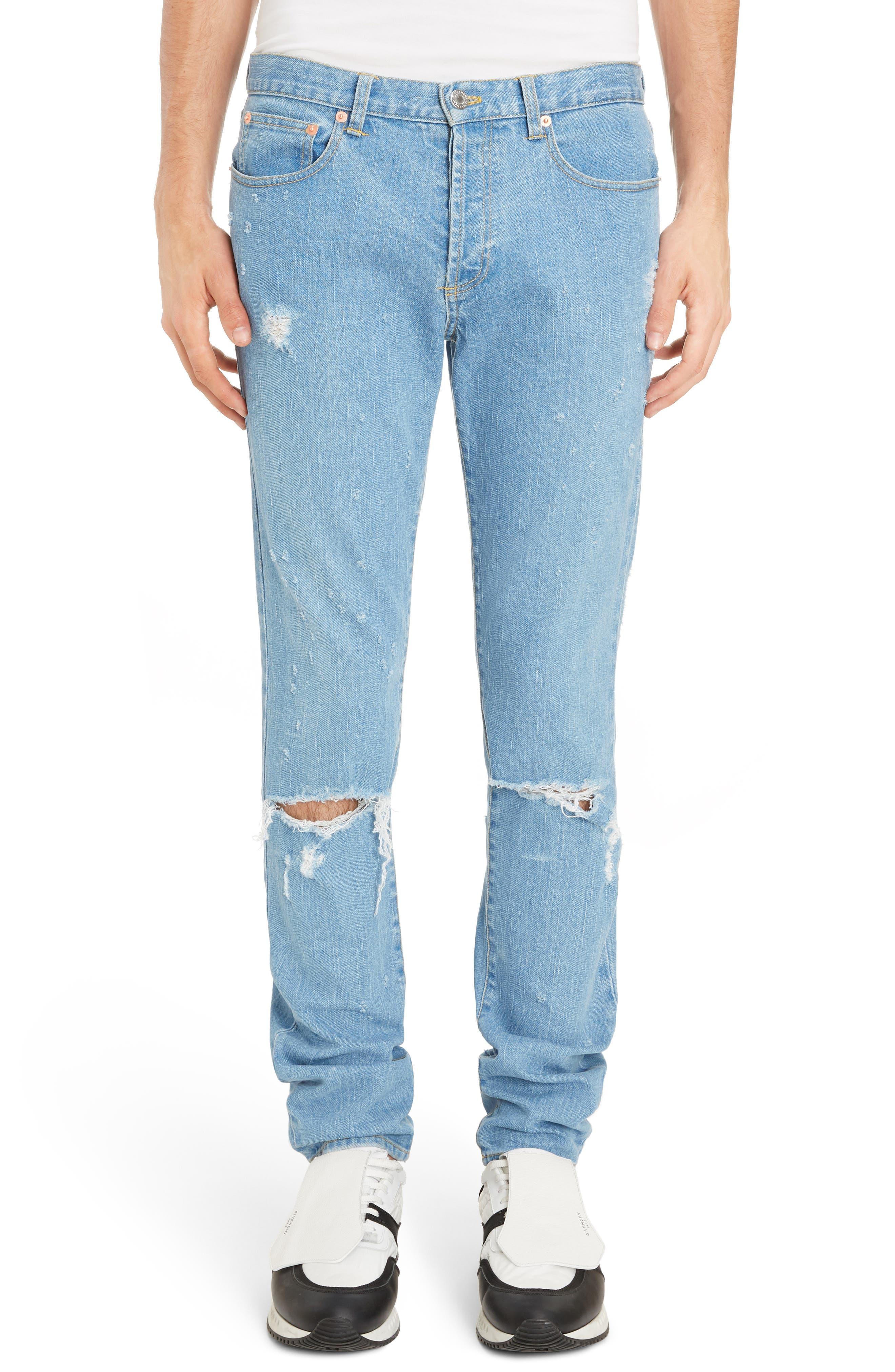 Rico Fit Jeans,                         Main,                         color, Medium Blue