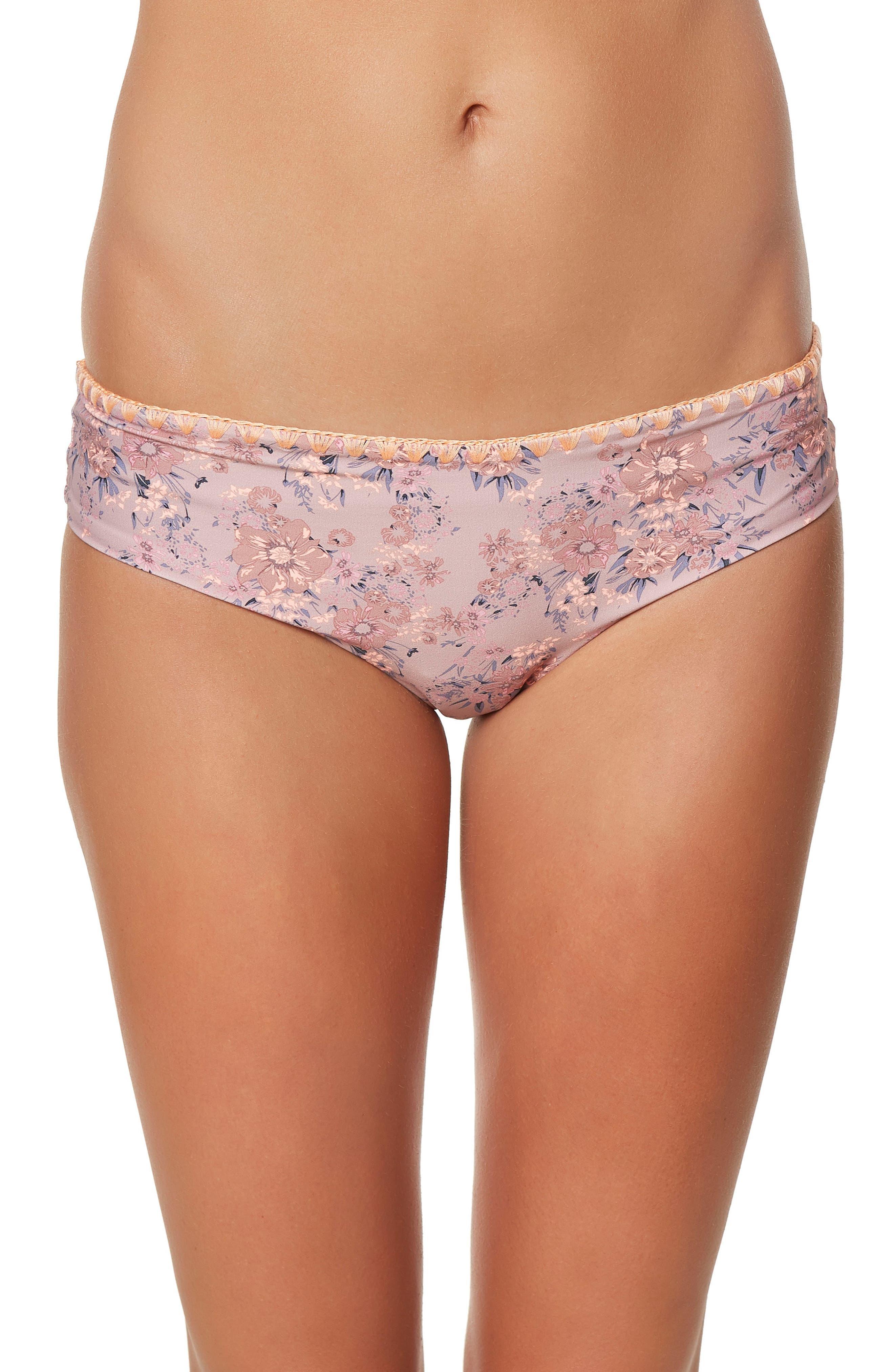 Calvin Hipster Bikini Bottoms,                         Main,                         color, Barefoot - Nat