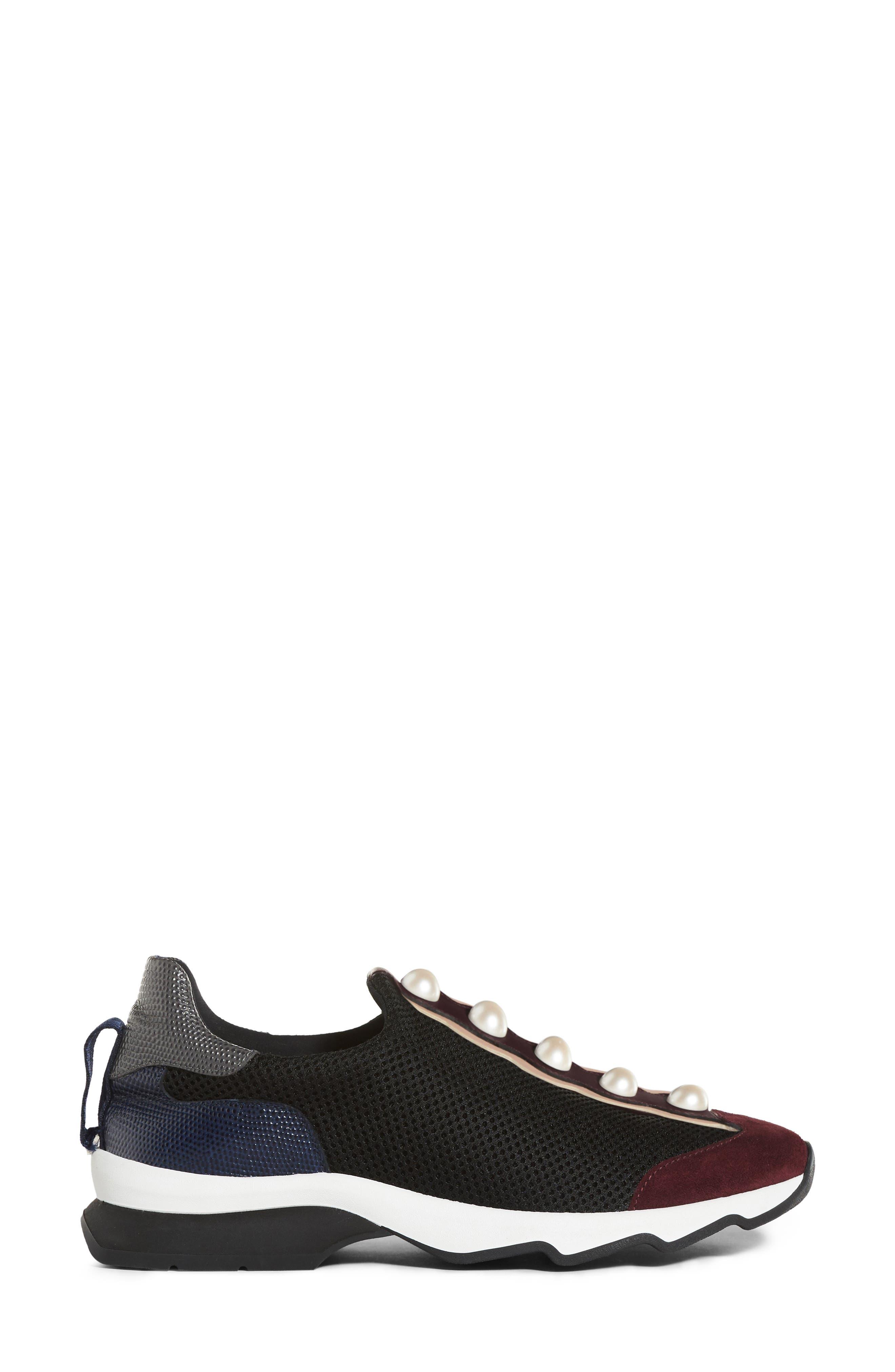 Alternate Image 3  - Fendi Pearland Slip-On Sneaker (Women)