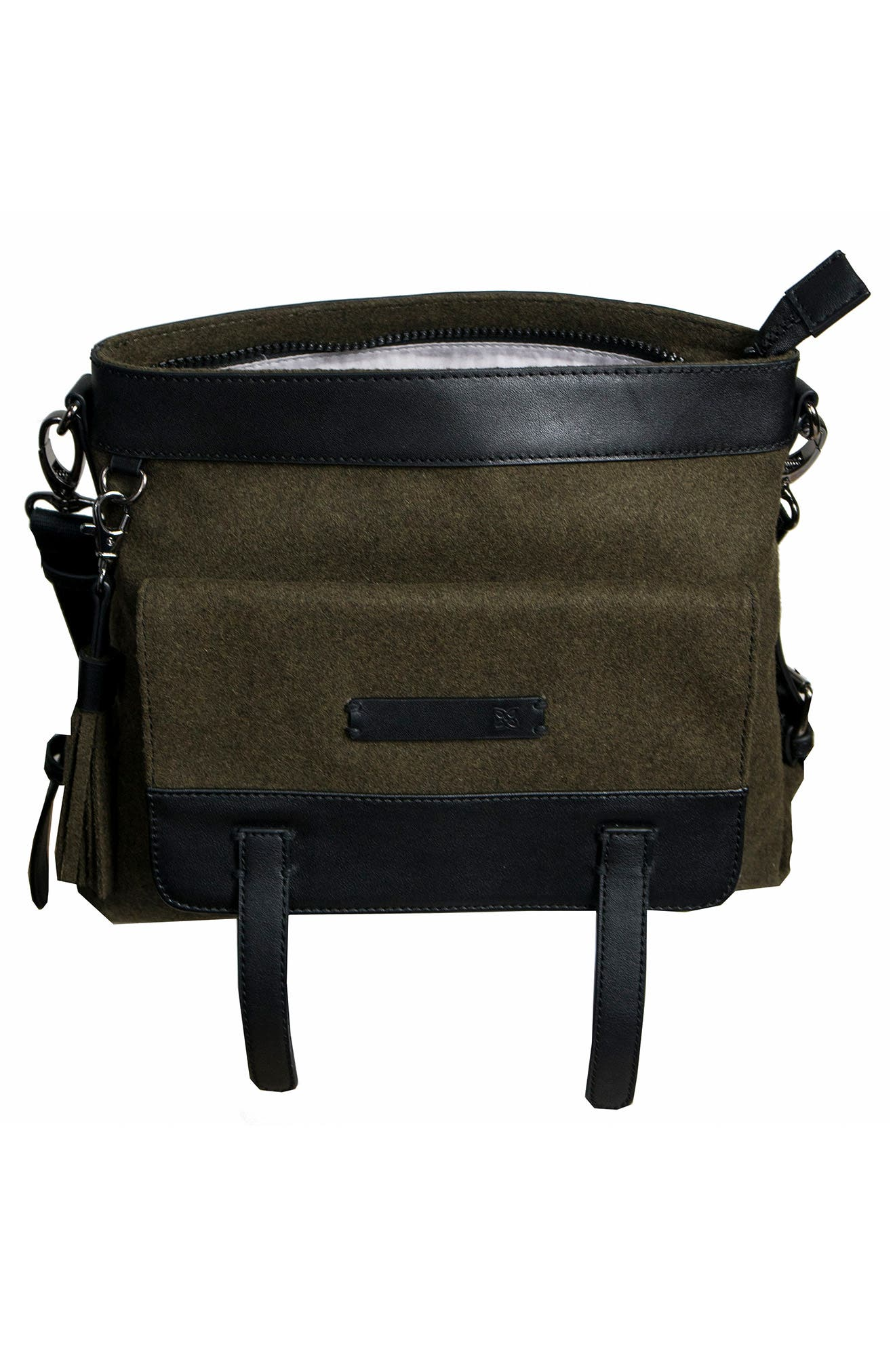 Alternate Image 3  - Sherpani Willow Boiled Wool Crossbody Bag