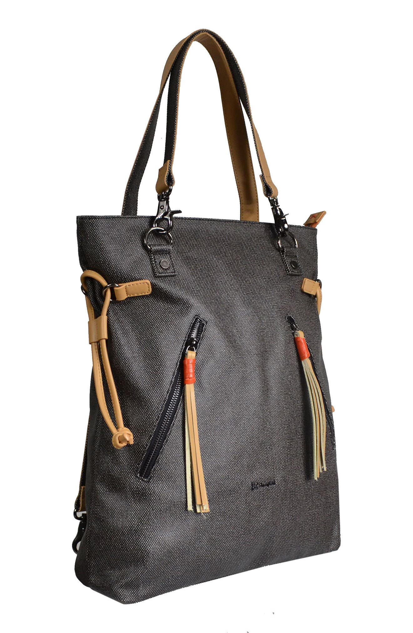 Alternate Image 4  - Sherpani Tempest Canvas Convertible Backpack