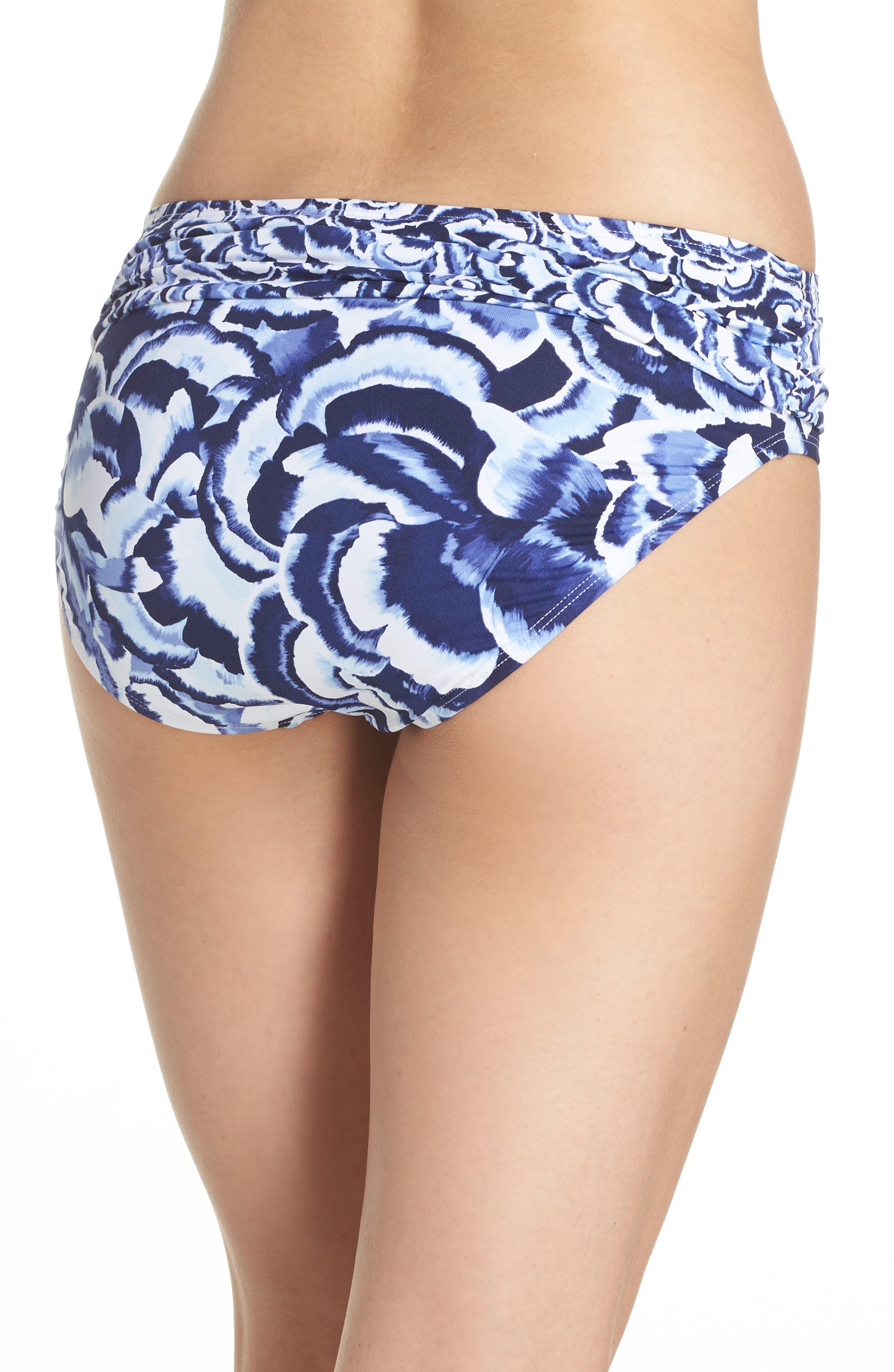 Alternate Image 2  - Tommy Bahama Pansy Petal Brief Bikini Bottoms