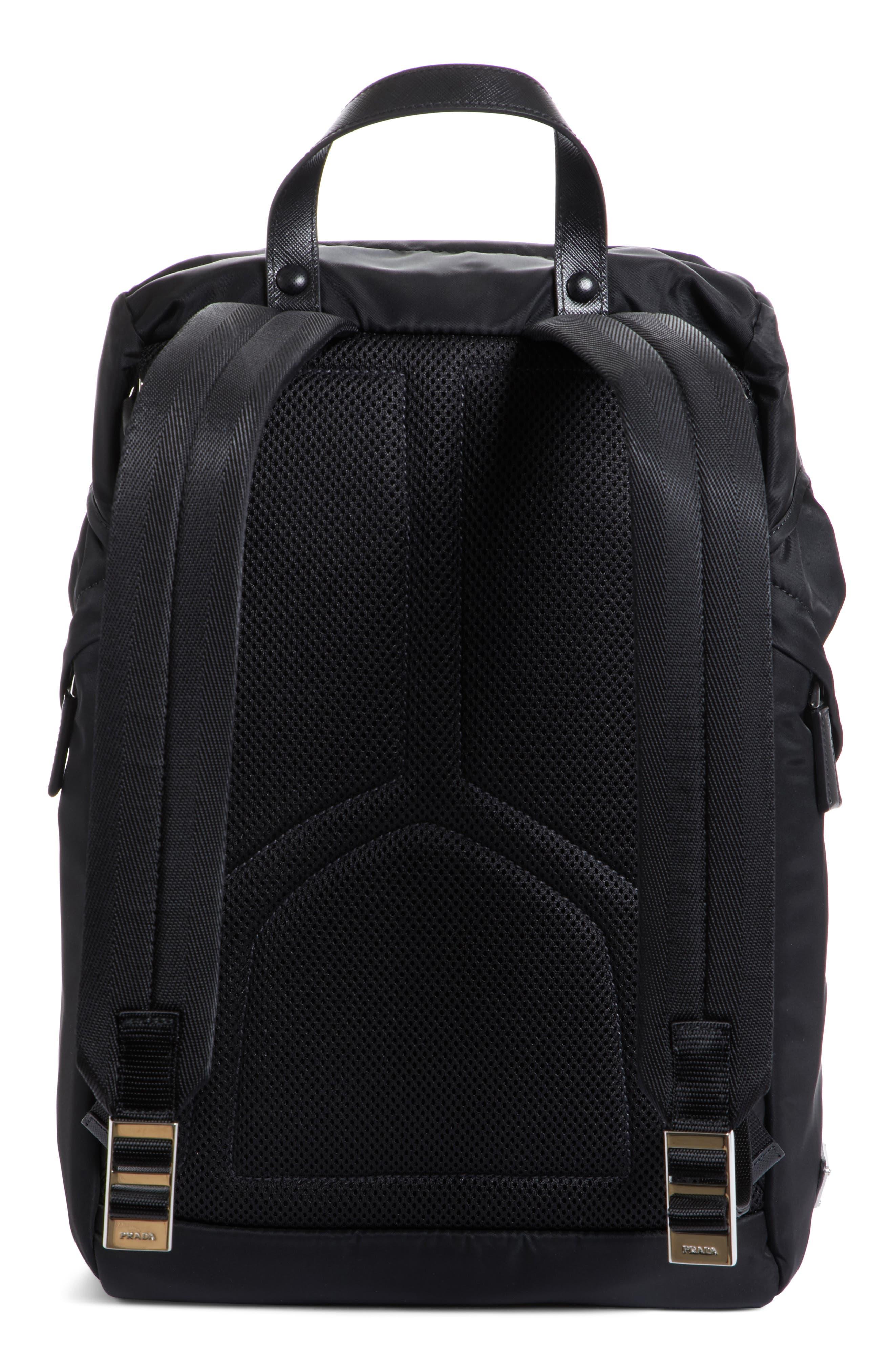 Montagna Backpack,                             Alternate thumbnail 3, color,                             Nero