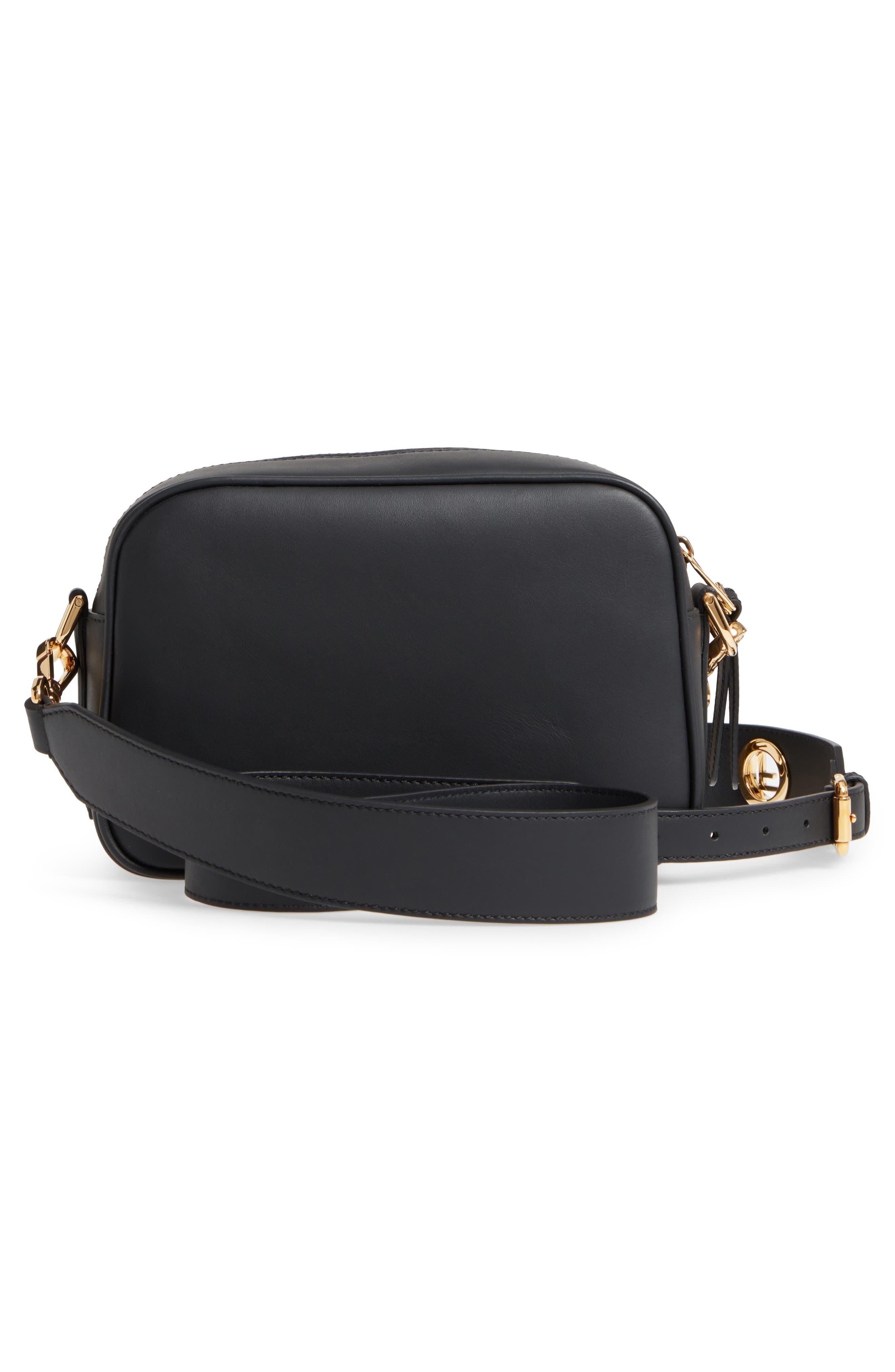 Alternate Image 3  - Fendi Logo Leather Camera Bag