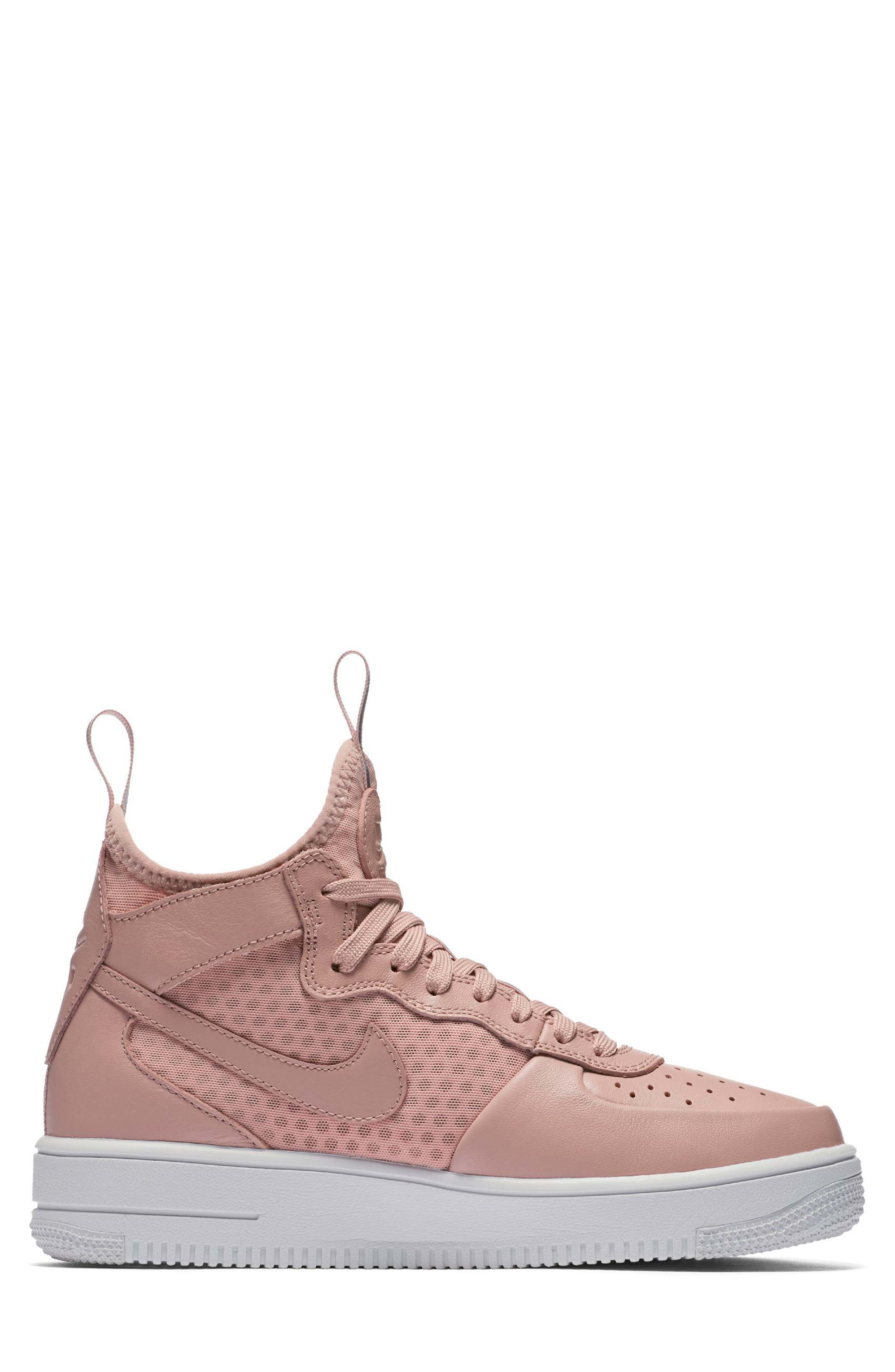 Alternate Image 5  - Nike Air Force 1 Ultraforce Mid Sneaker (Women)