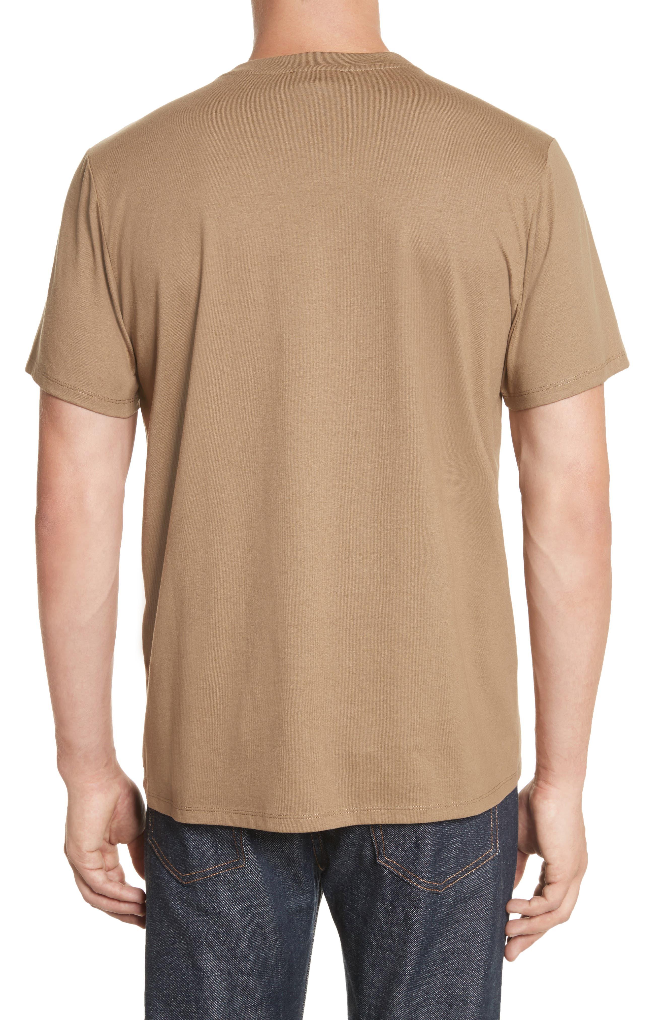 Jimmy T-Shirt,                             Alternate thumbnail 2, color,                             Taupe