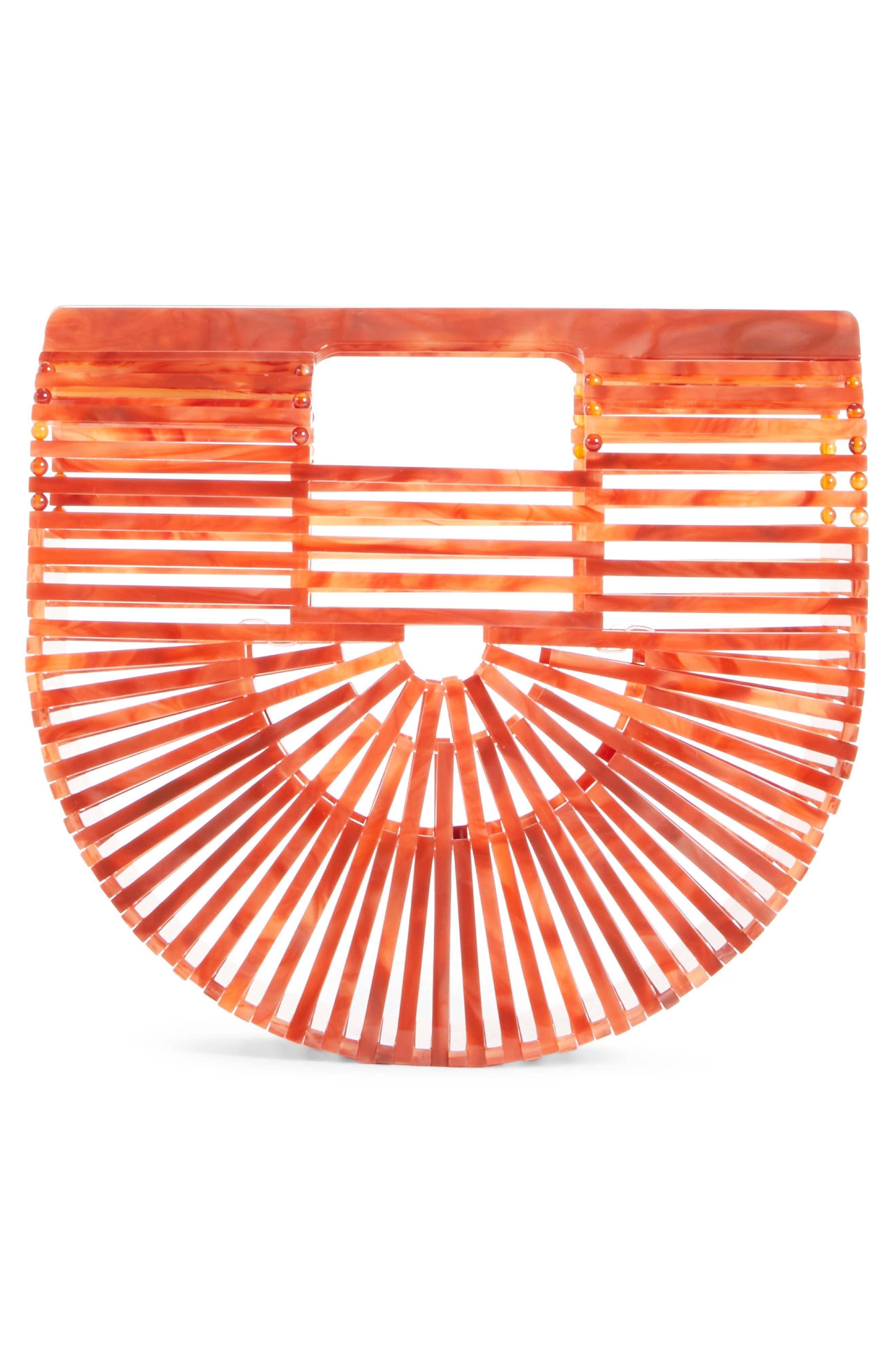 Mini Ark Handbag,                             Alternate thumbnail 3, color,                             Agate