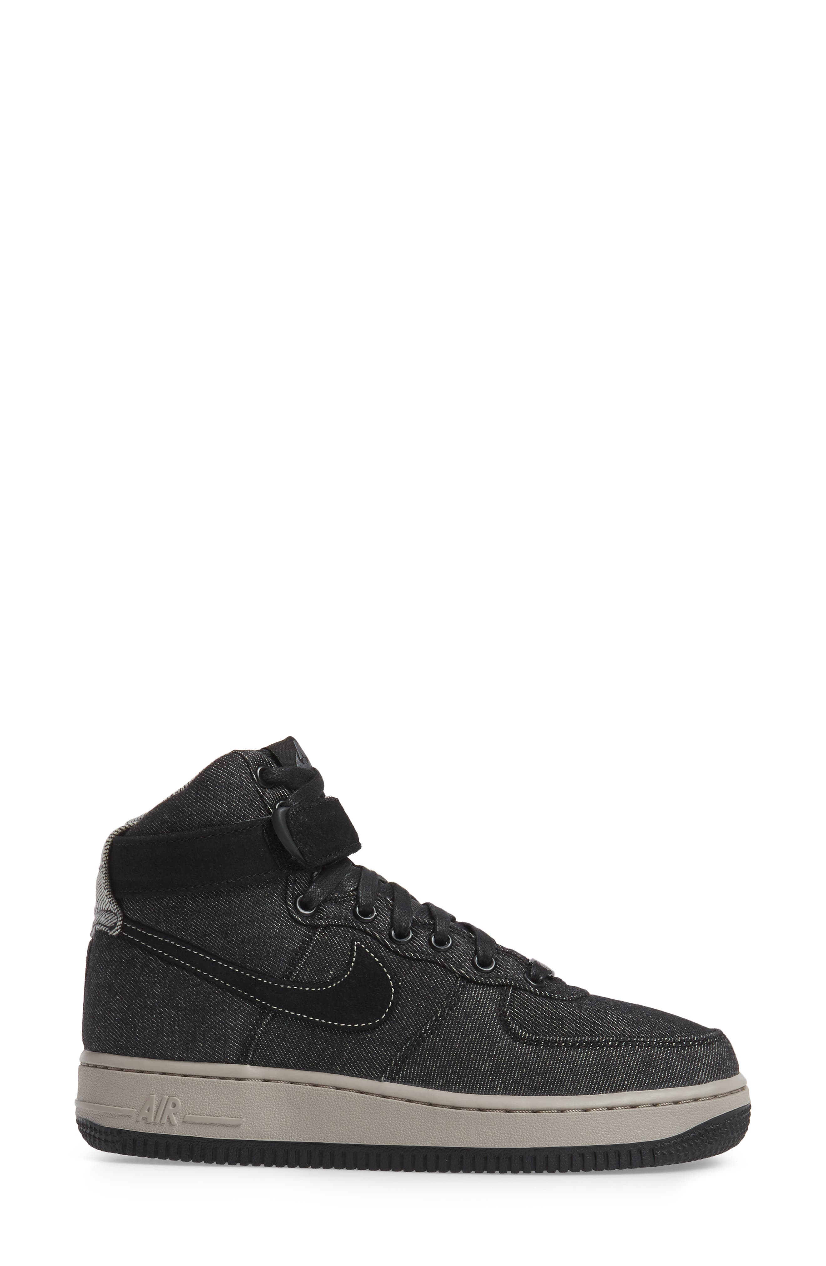Alternate Image 3  - Nike Air Force 1 High Top SE Sneaker (Women)