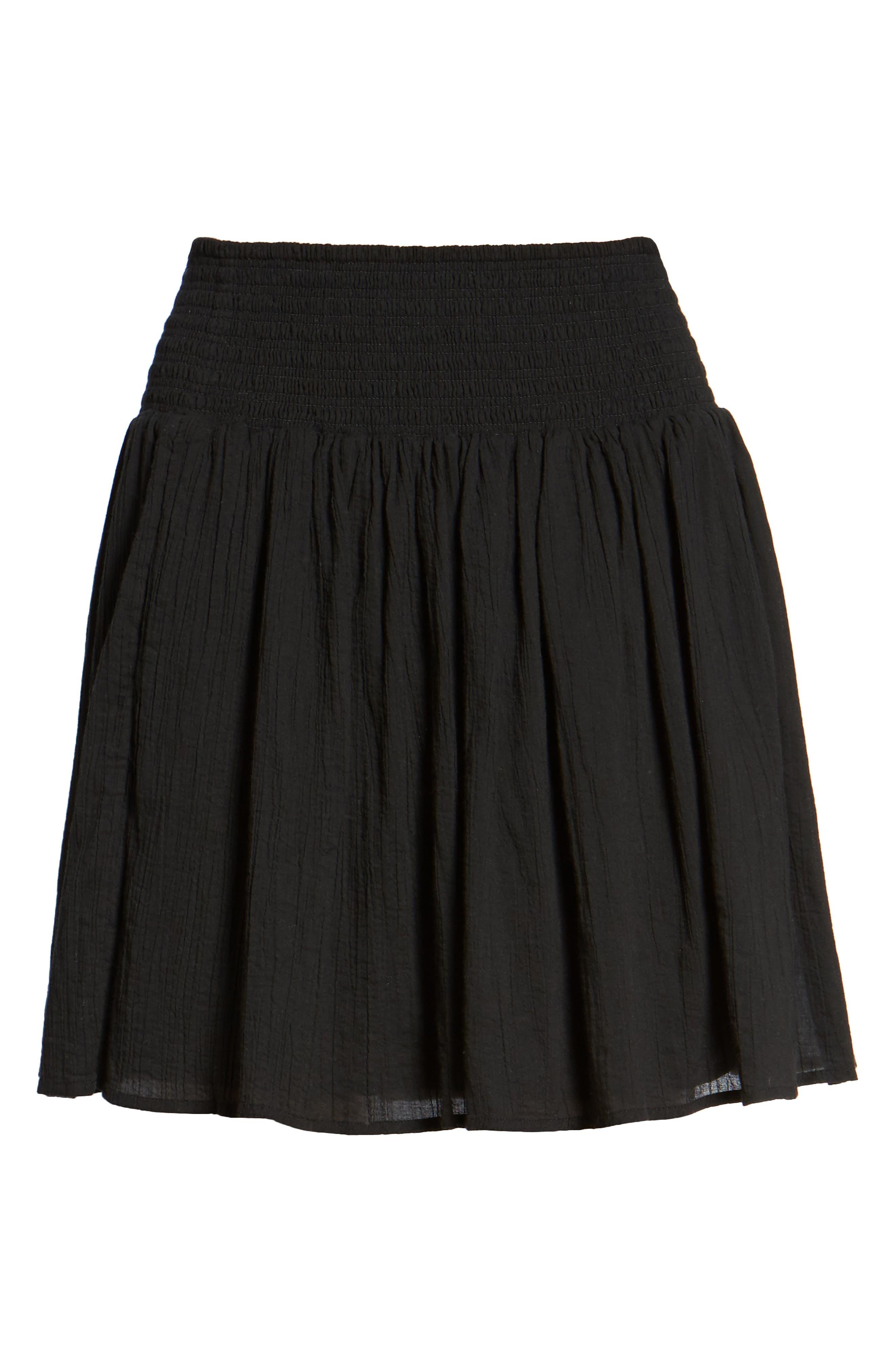 Alternate Image 6  - James Perse Smocked Cotton Skirt