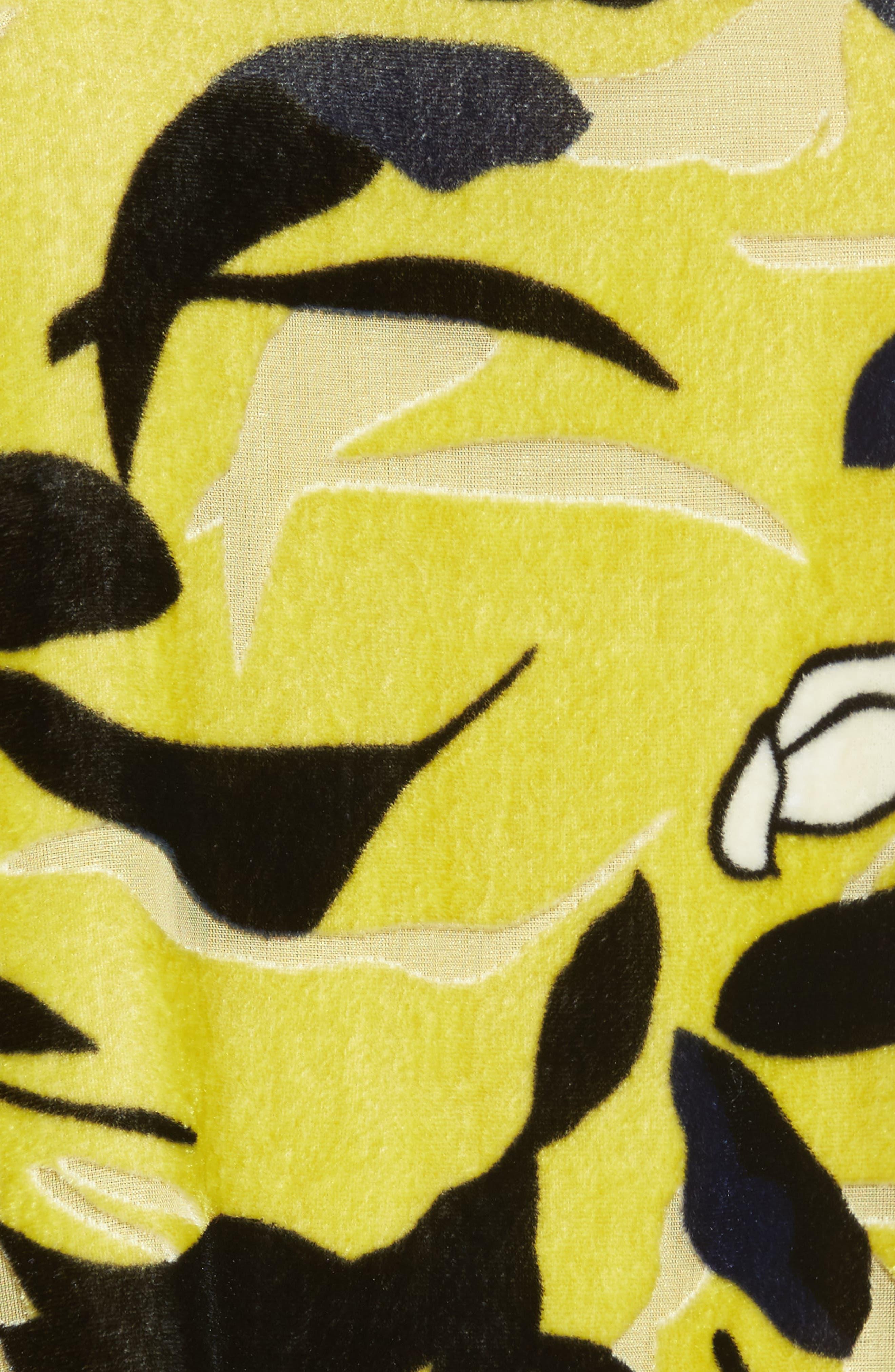 Savoy Velvet Cami,                             Alternate thumbnail 5, color,                             Squash Multi