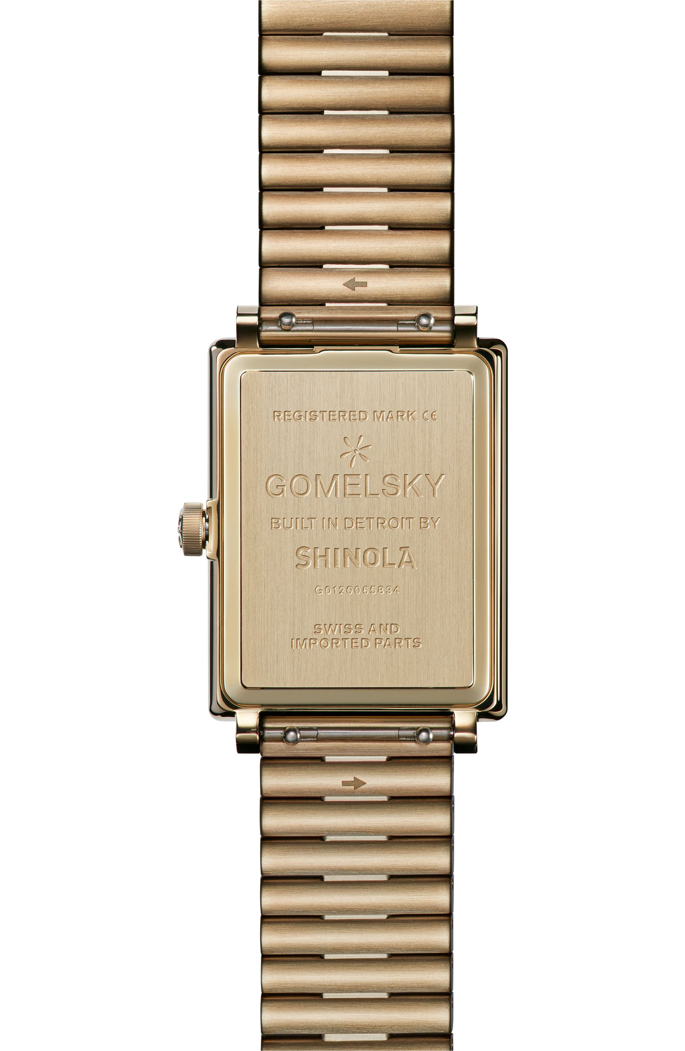 Alternate Image 2  - Gomelsky The Shirley Fromer Bracelet Watch, 32mm x 25mm