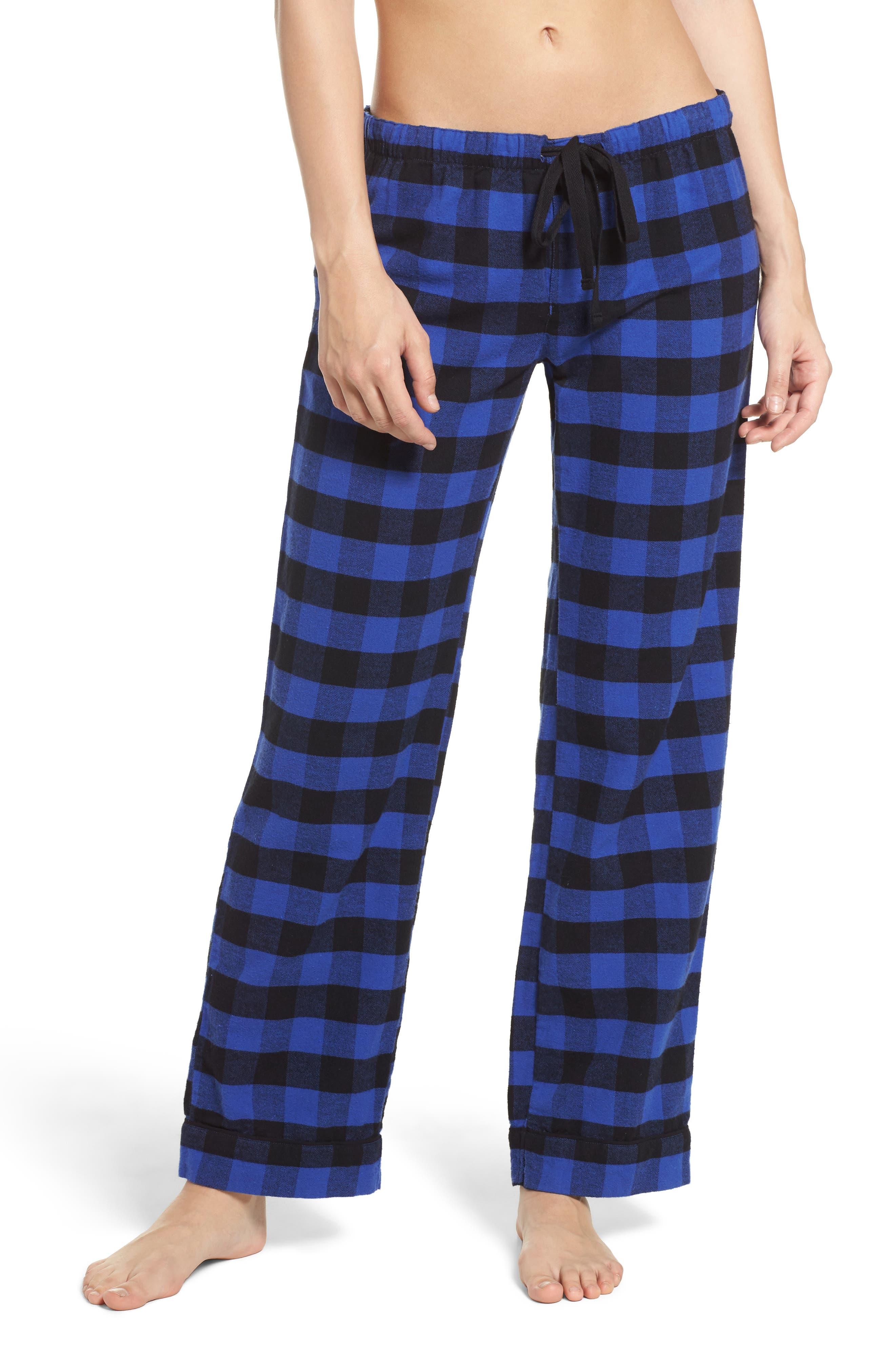 Pajama Pants,                             Main thumbnail 1, color,                             Royal