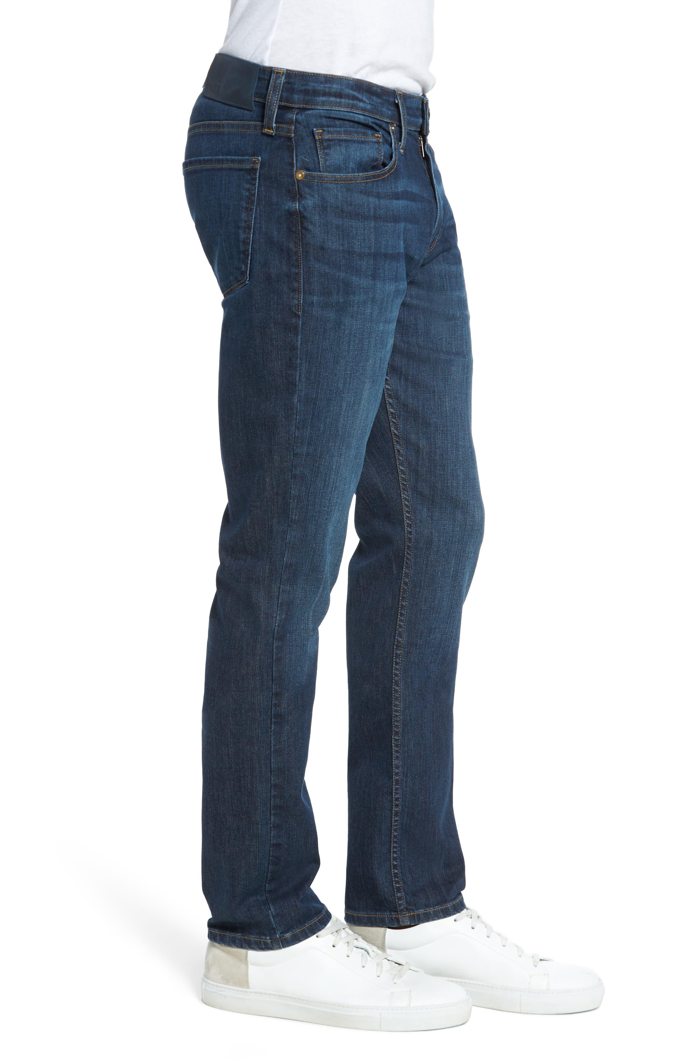 Alternate Image 3  - PAIGE Lennox Slim Fit Jeans (Ridge)