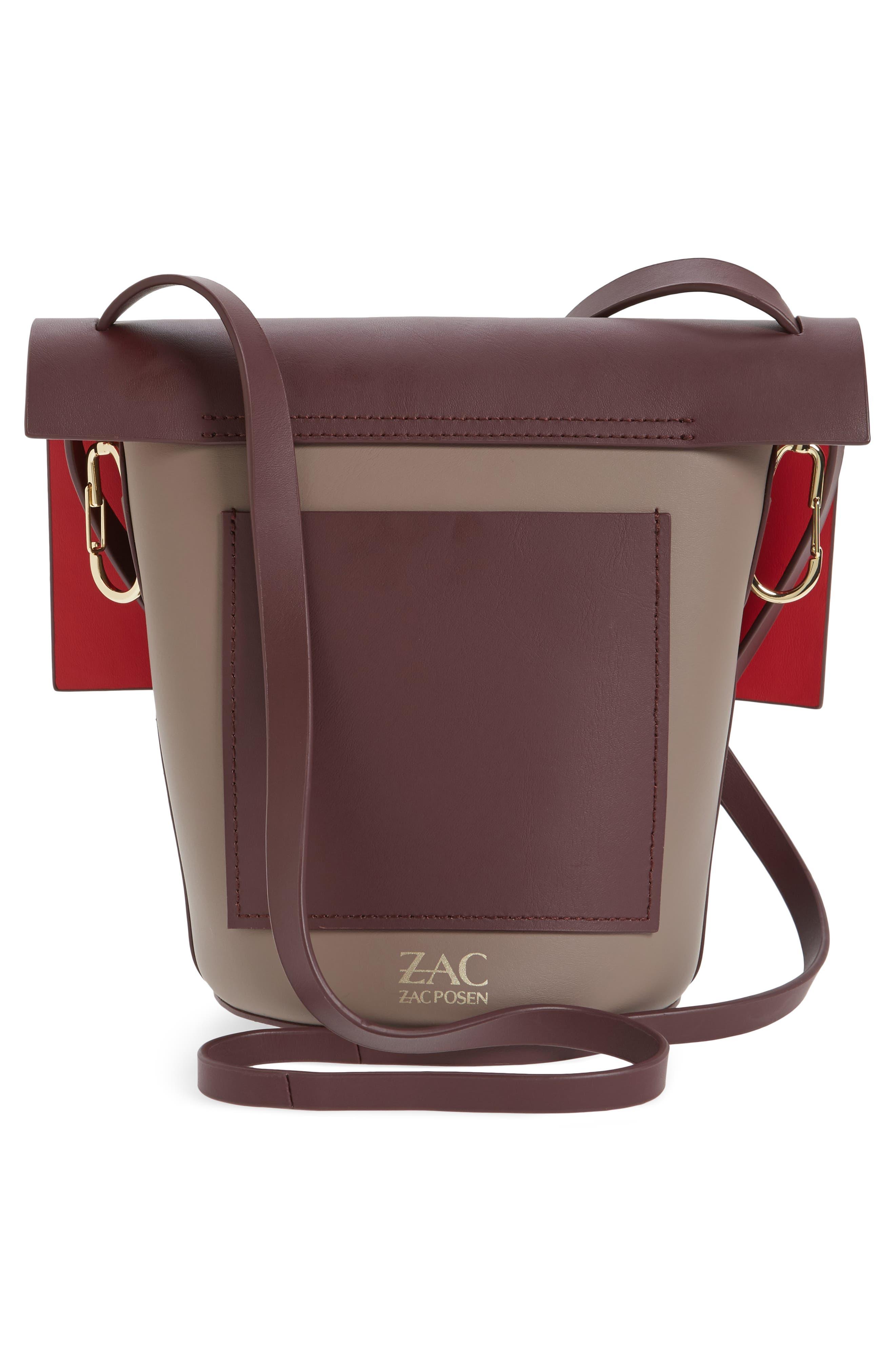 Alternate Image 2  - ZAC Zac Posen Belay Colorblocked Leather Crossbody Bucket Bag