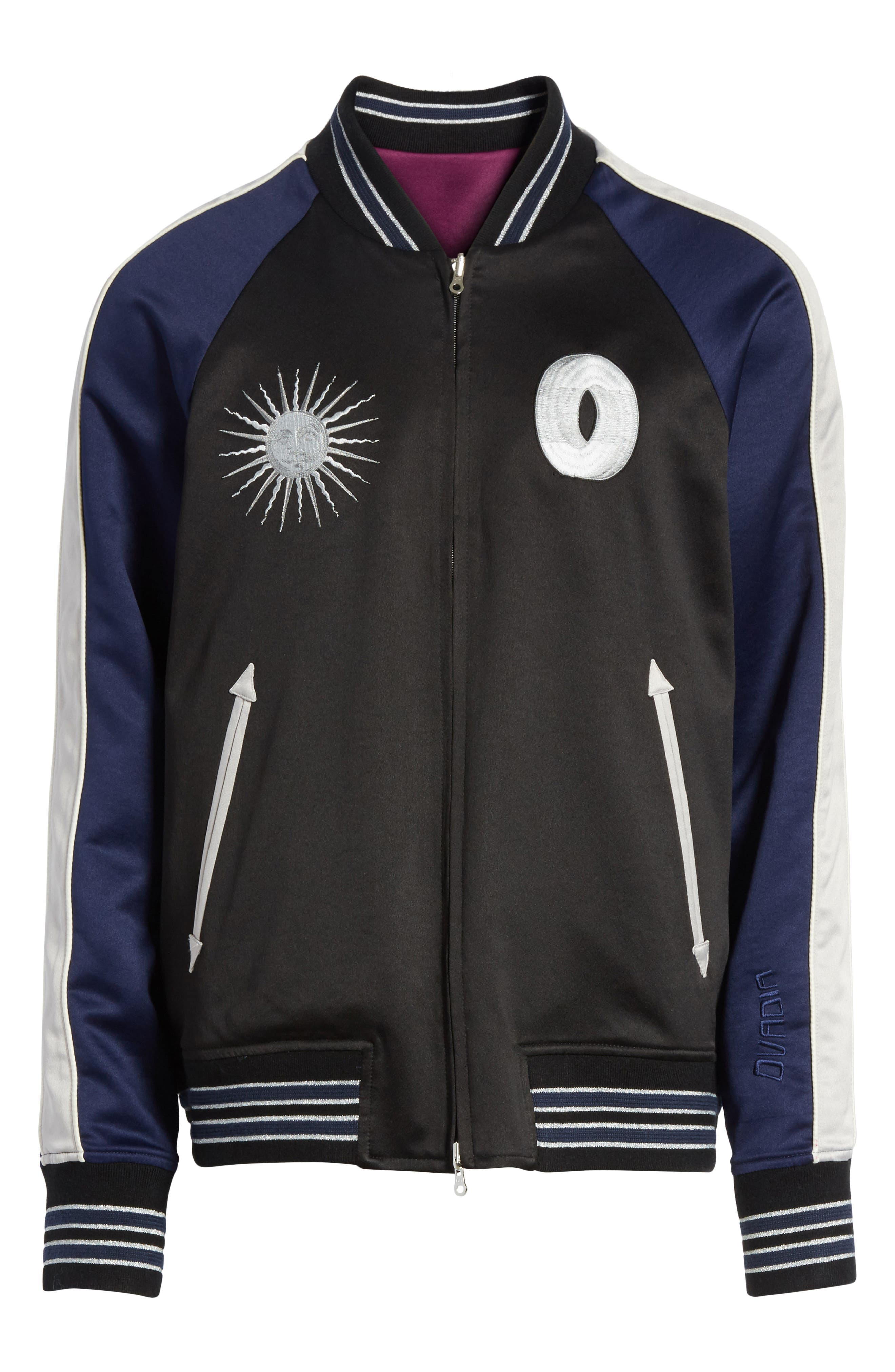Alternate Image 6  - OVADIA & SONS Reversible Souvenir Jacket