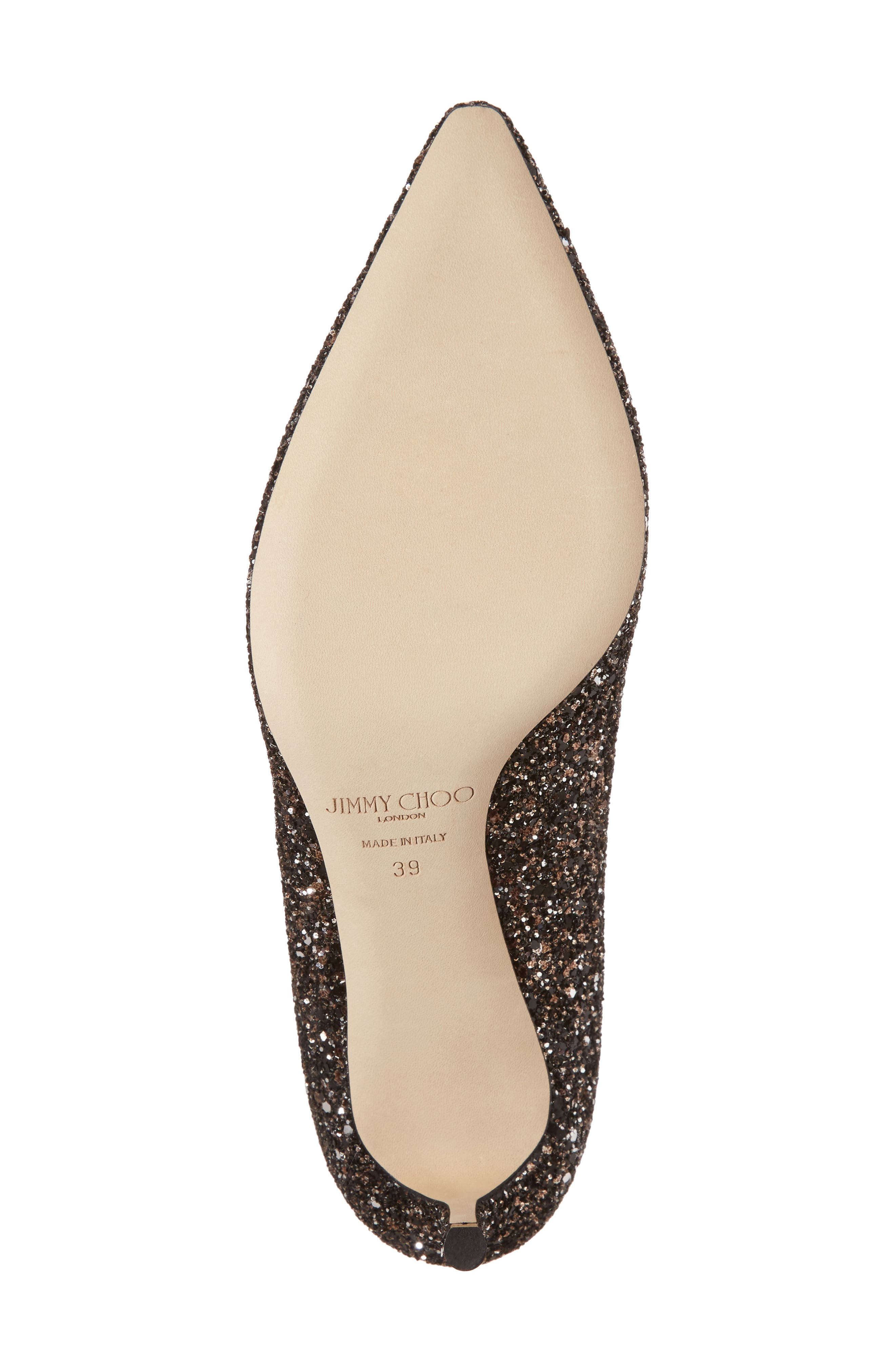 Alternate Image 6  - Jimmy Choo Romy Glitter Pump (Women)
