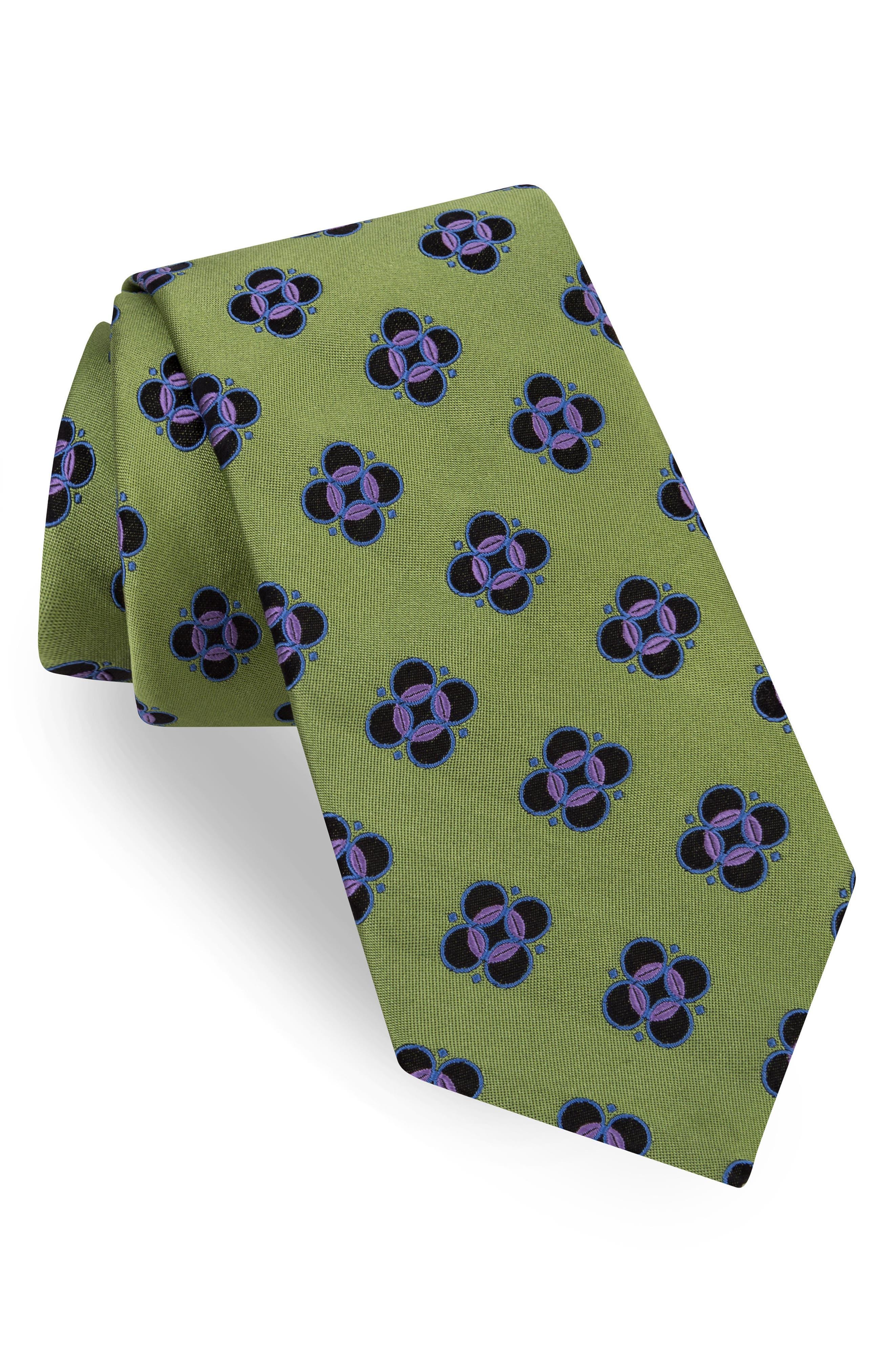 Ted Baker London Botanical Wardrobe Silk Tie
