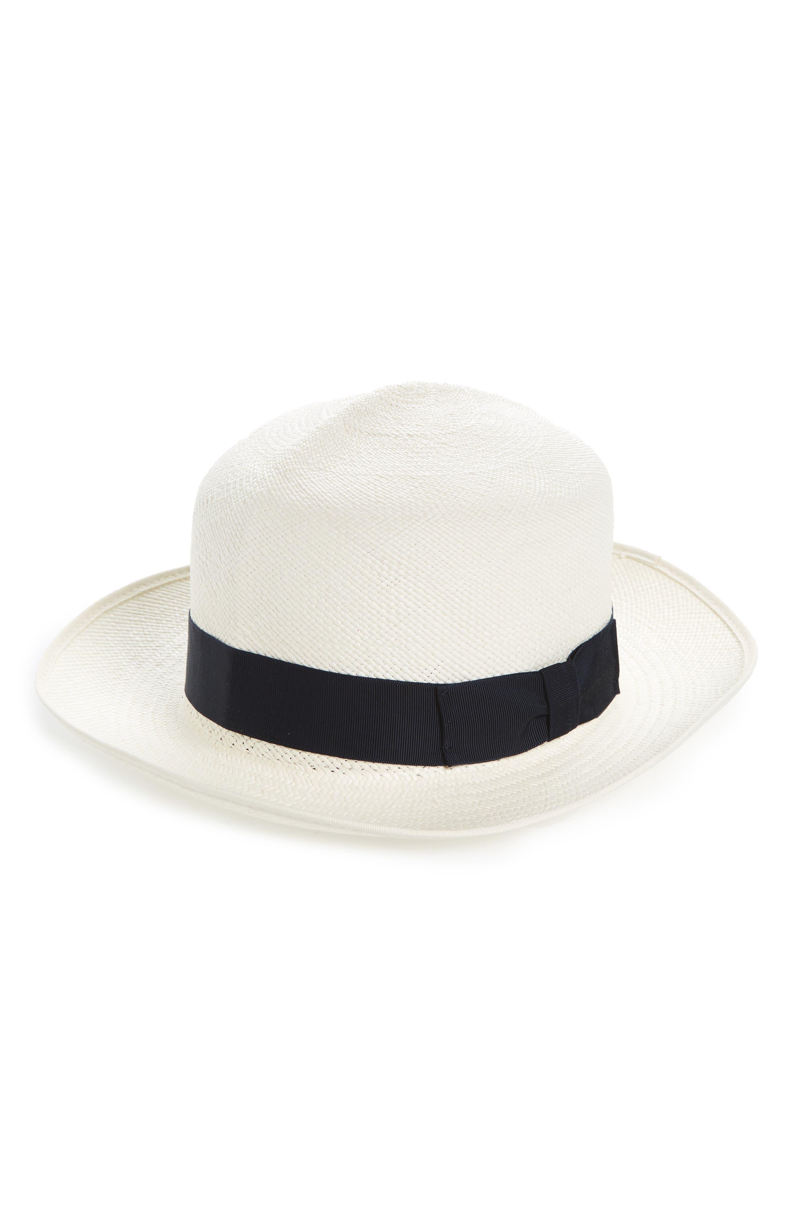 Alternate Image 1 Selected - Christy's Hats Folder Straw Panama Hat