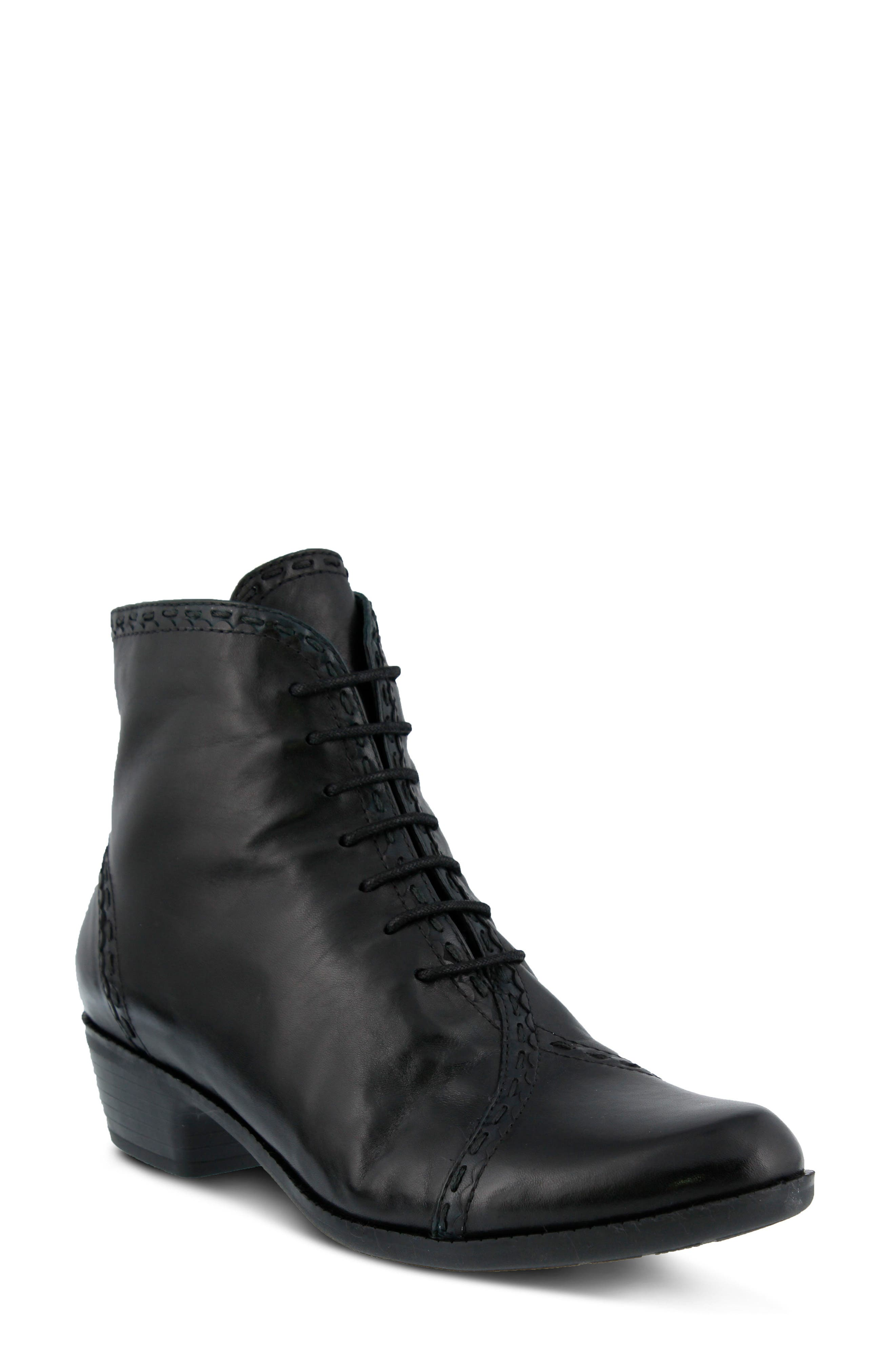 Spring Step Jaru Lace-Up Bootie (Women)