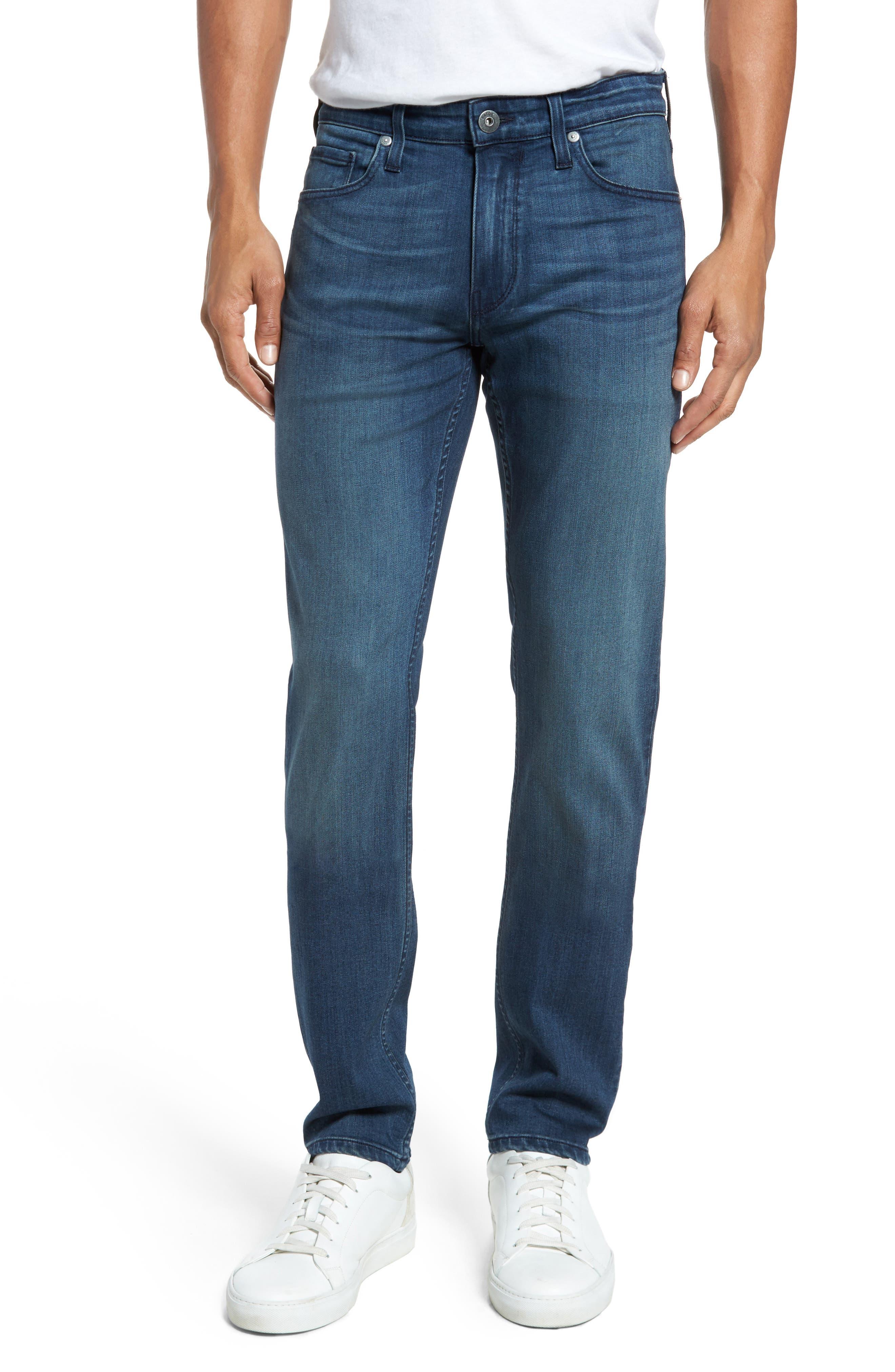 Transcend - Lennox Slim Fit Jeans,                         Main,                         color, Skyler