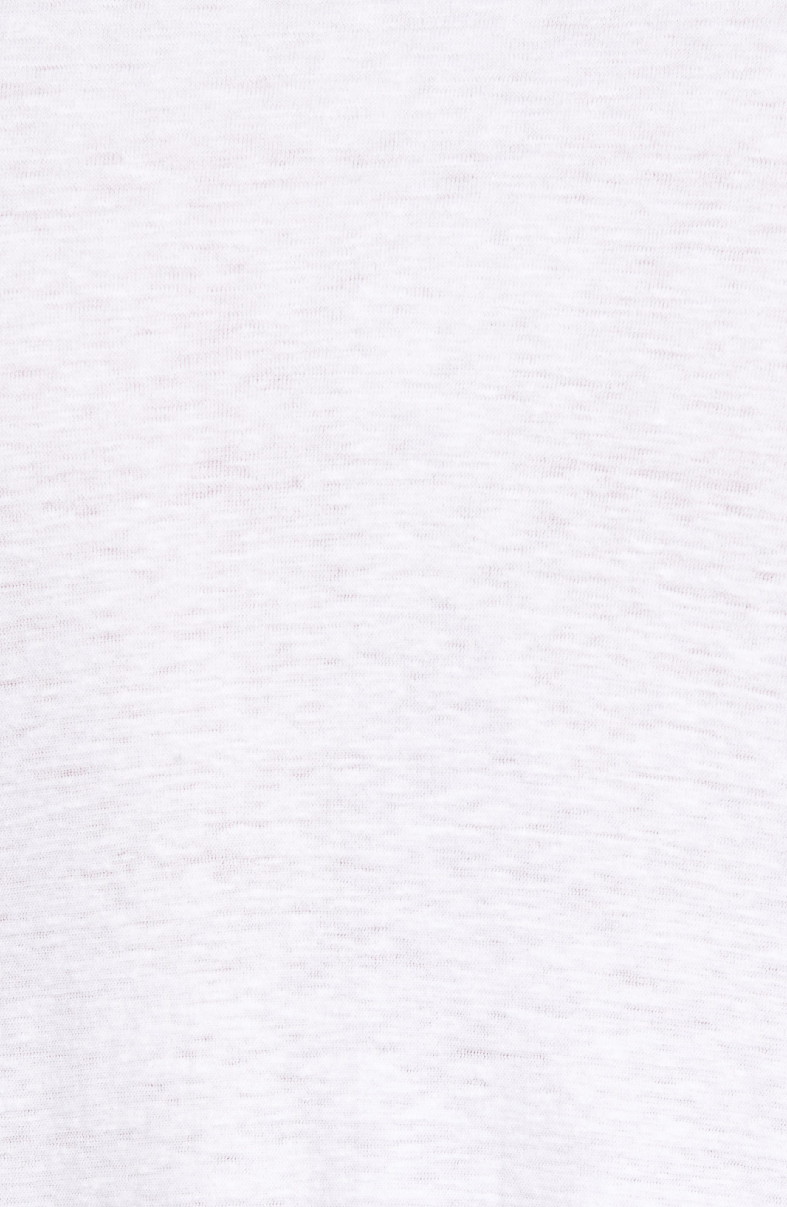 Alternate Image 5  - James Perse Cotton & Linen Pocket T-Shirt