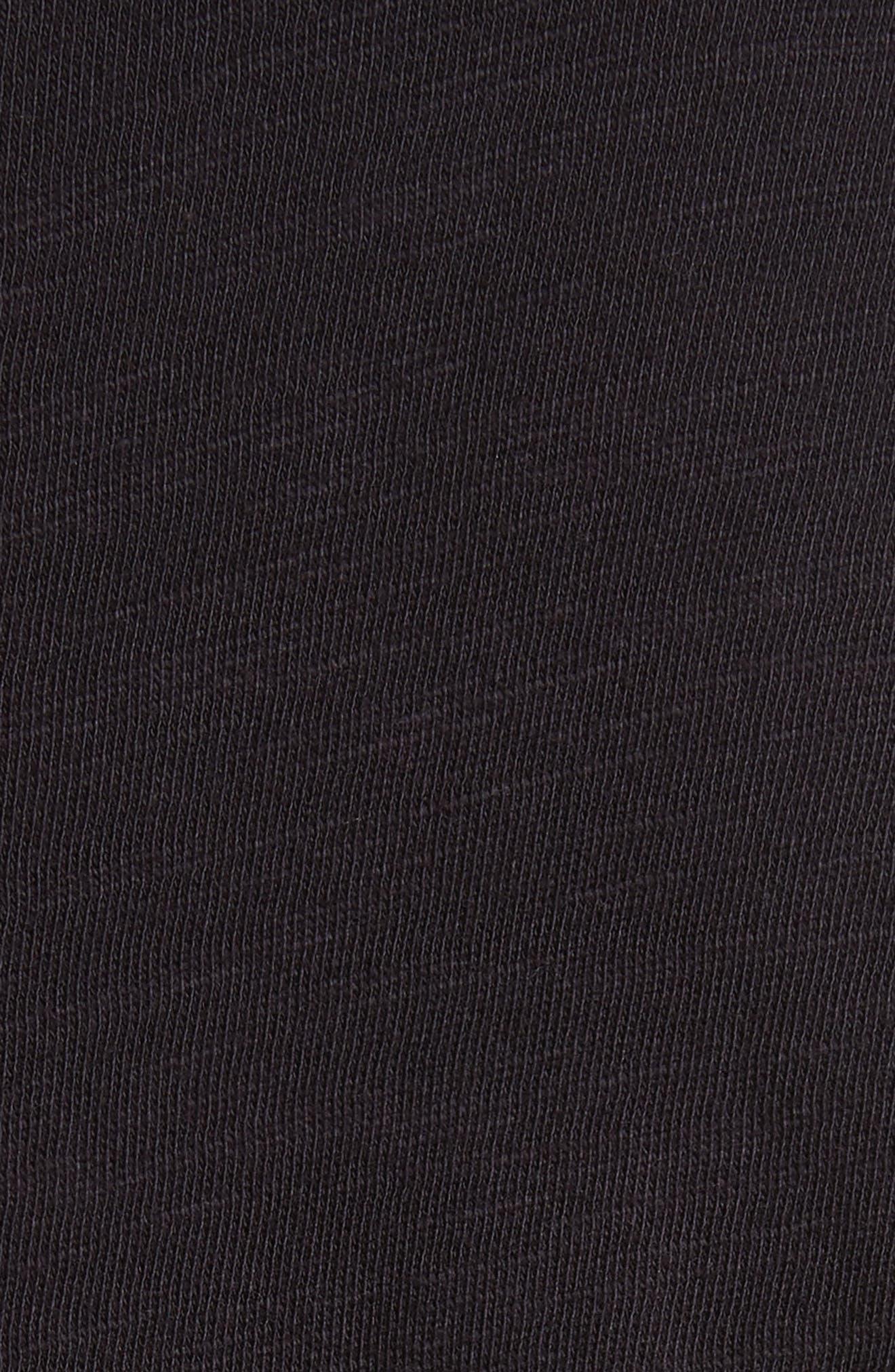 Standard Issue Henley T-Shirt,                             Alternate thumbnail 5, color,                             Black