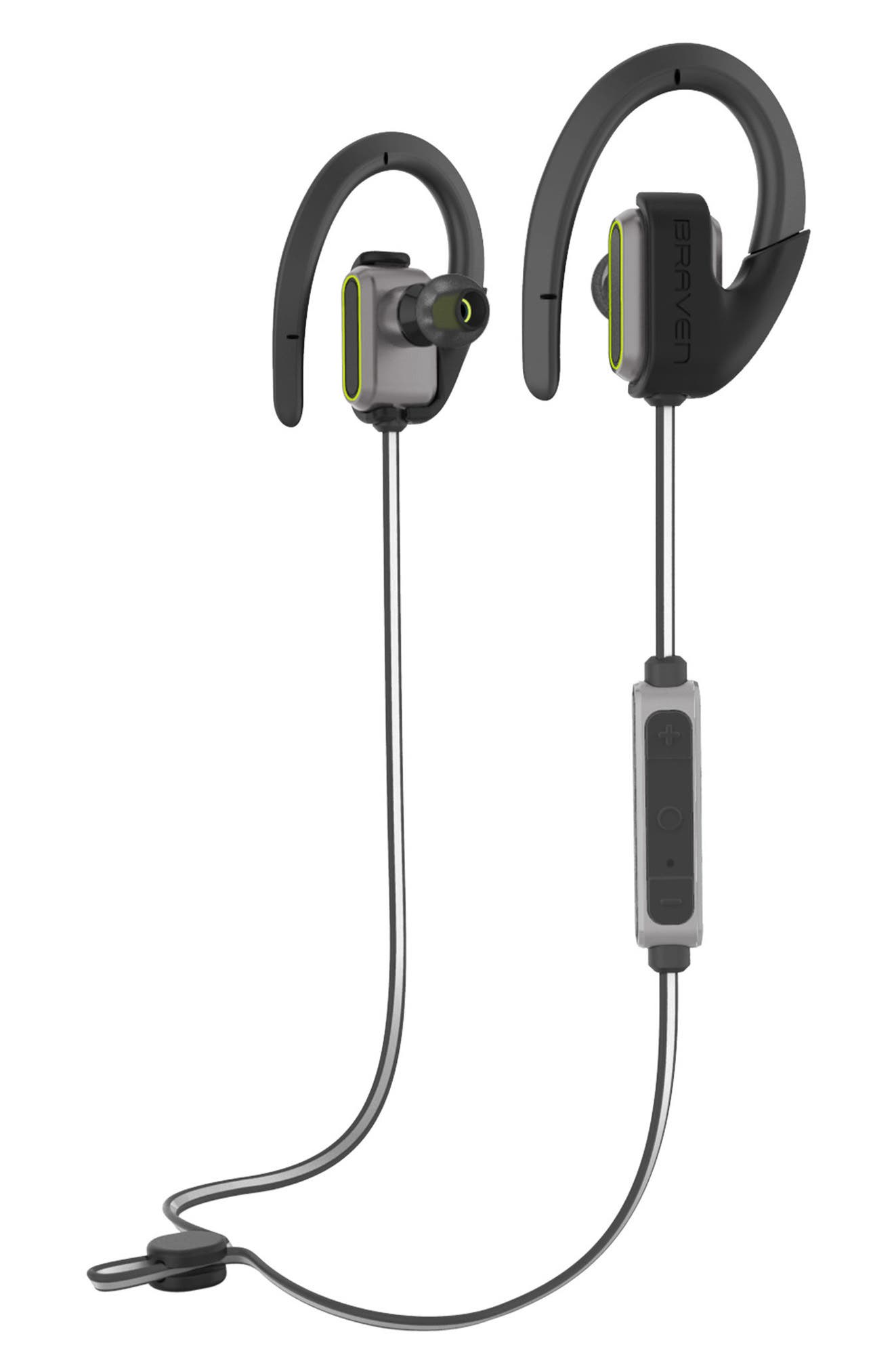 BRAVEN Flye Sport Reflect Bluetooth In-Ear Headphones & Power Bank