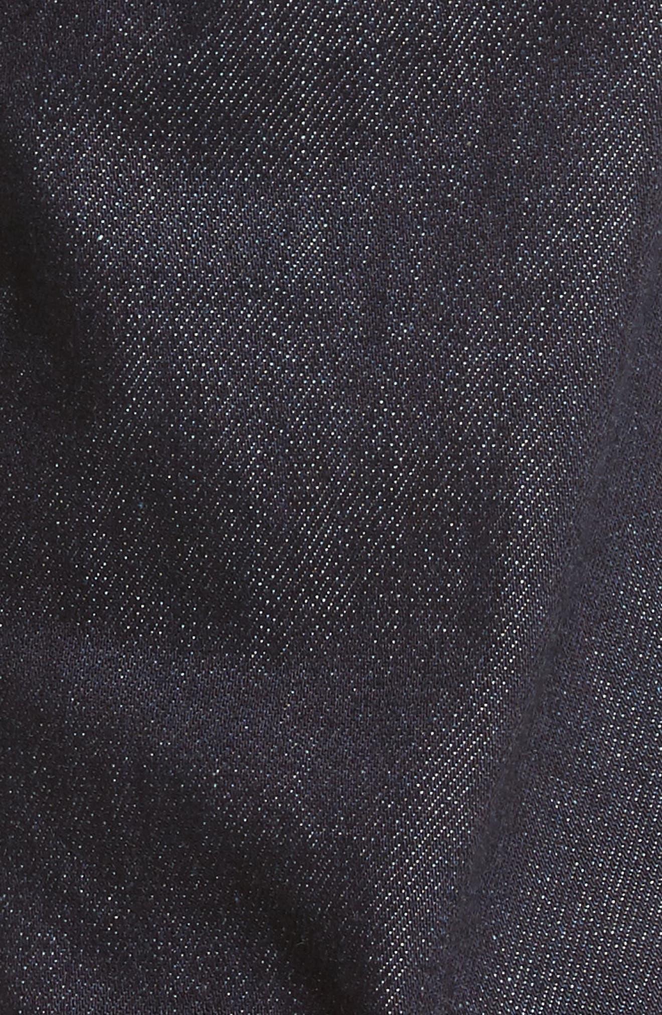 Demon Slim Straight Leg Jeans,                             Alternate thumbnail 5, color,                             Rinse