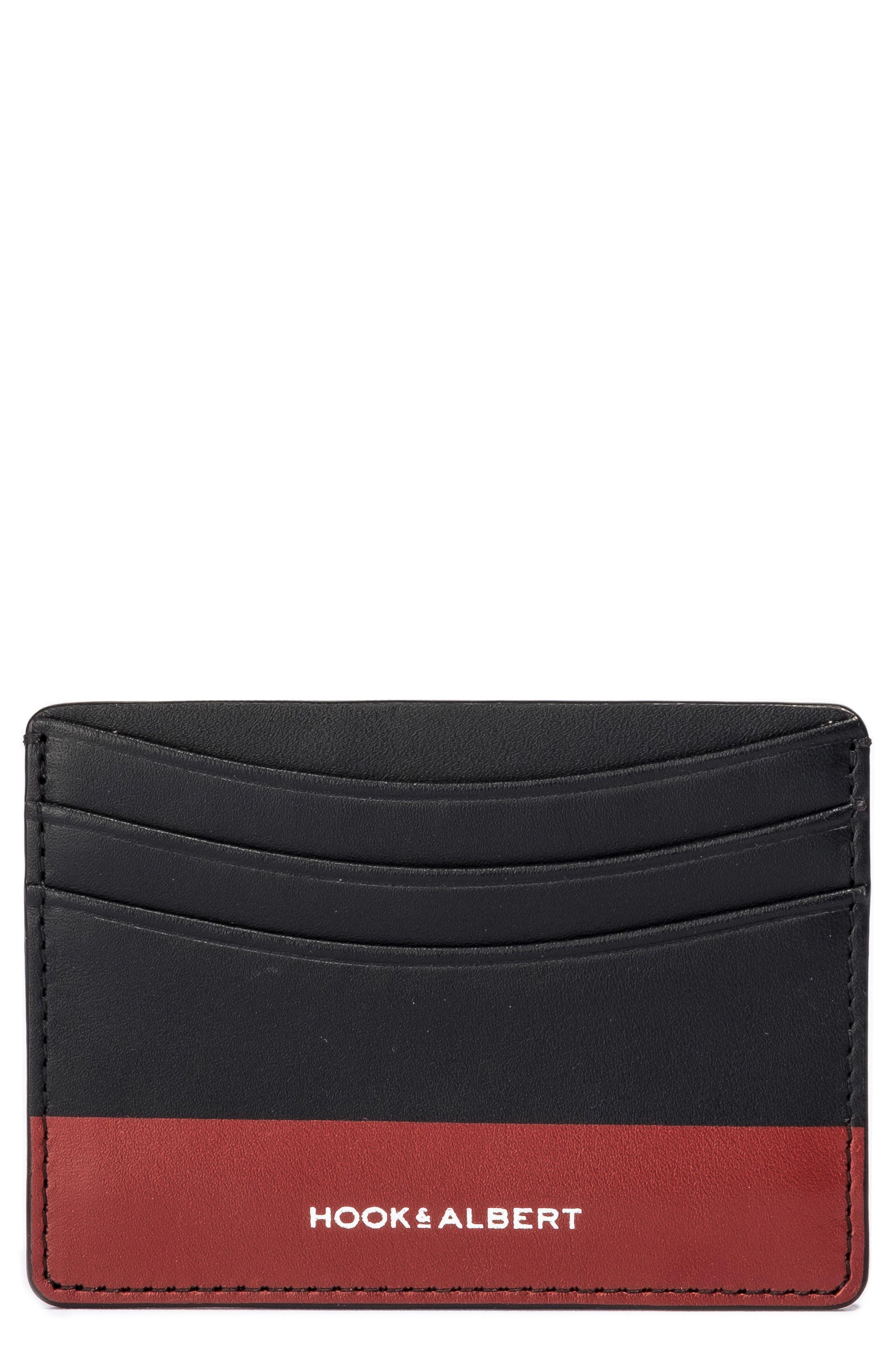 hook + ALBERT Leather Card Case