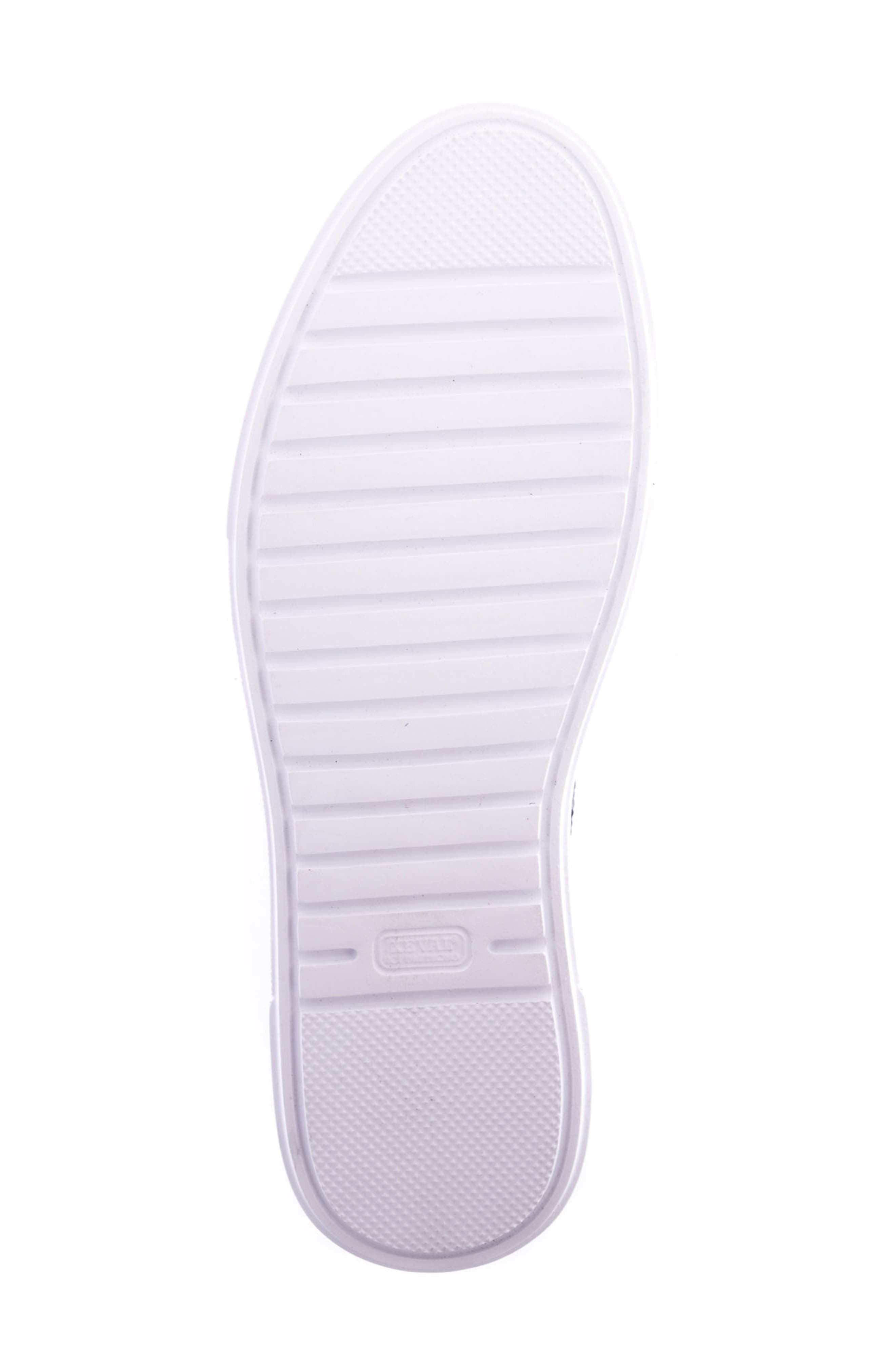 Justin Perforated Sneaker,                             Alternate thumbnail 6, color,                             Black