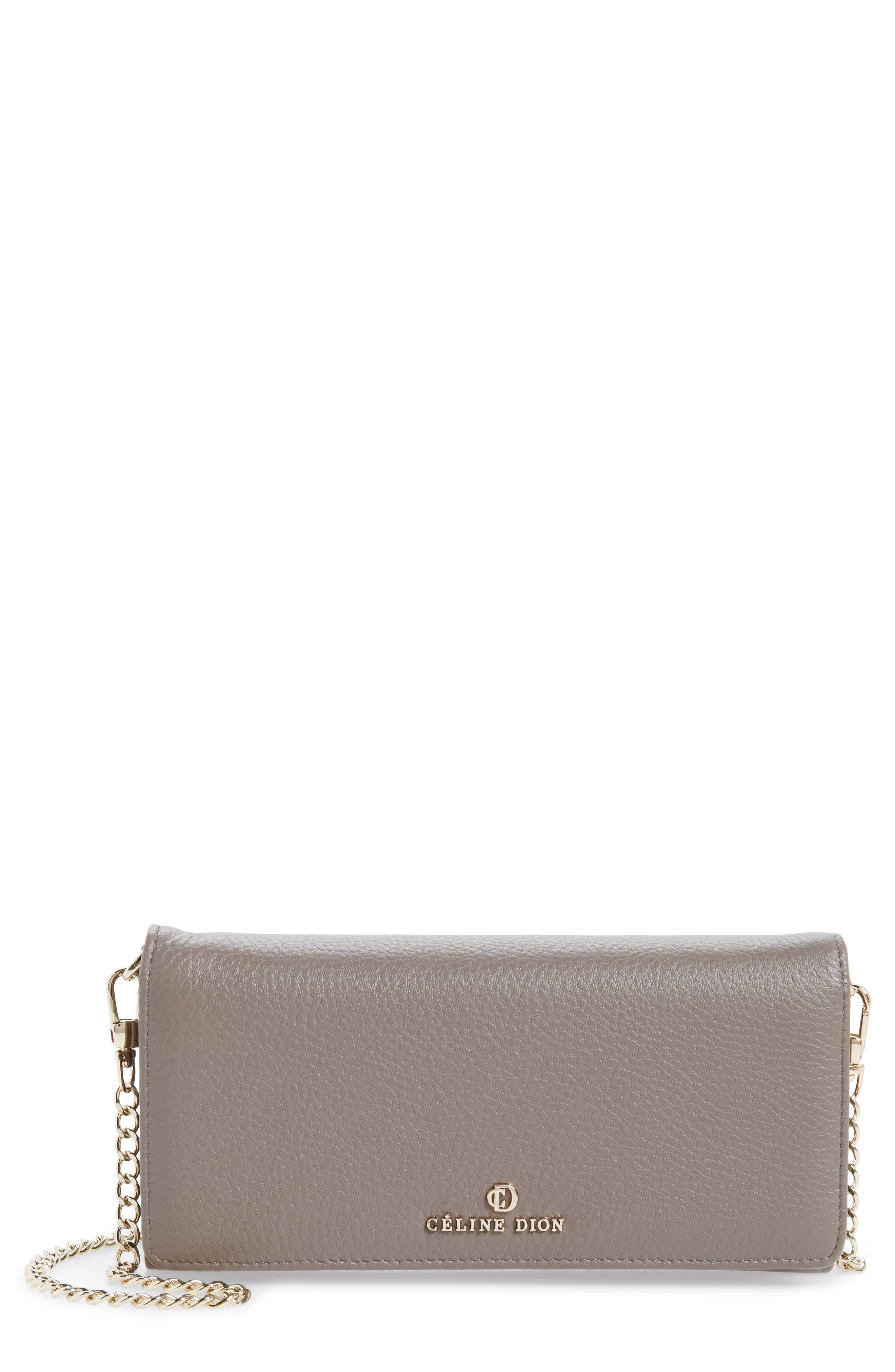 Céline Dion Adagio Leather Crossbody Wallet
