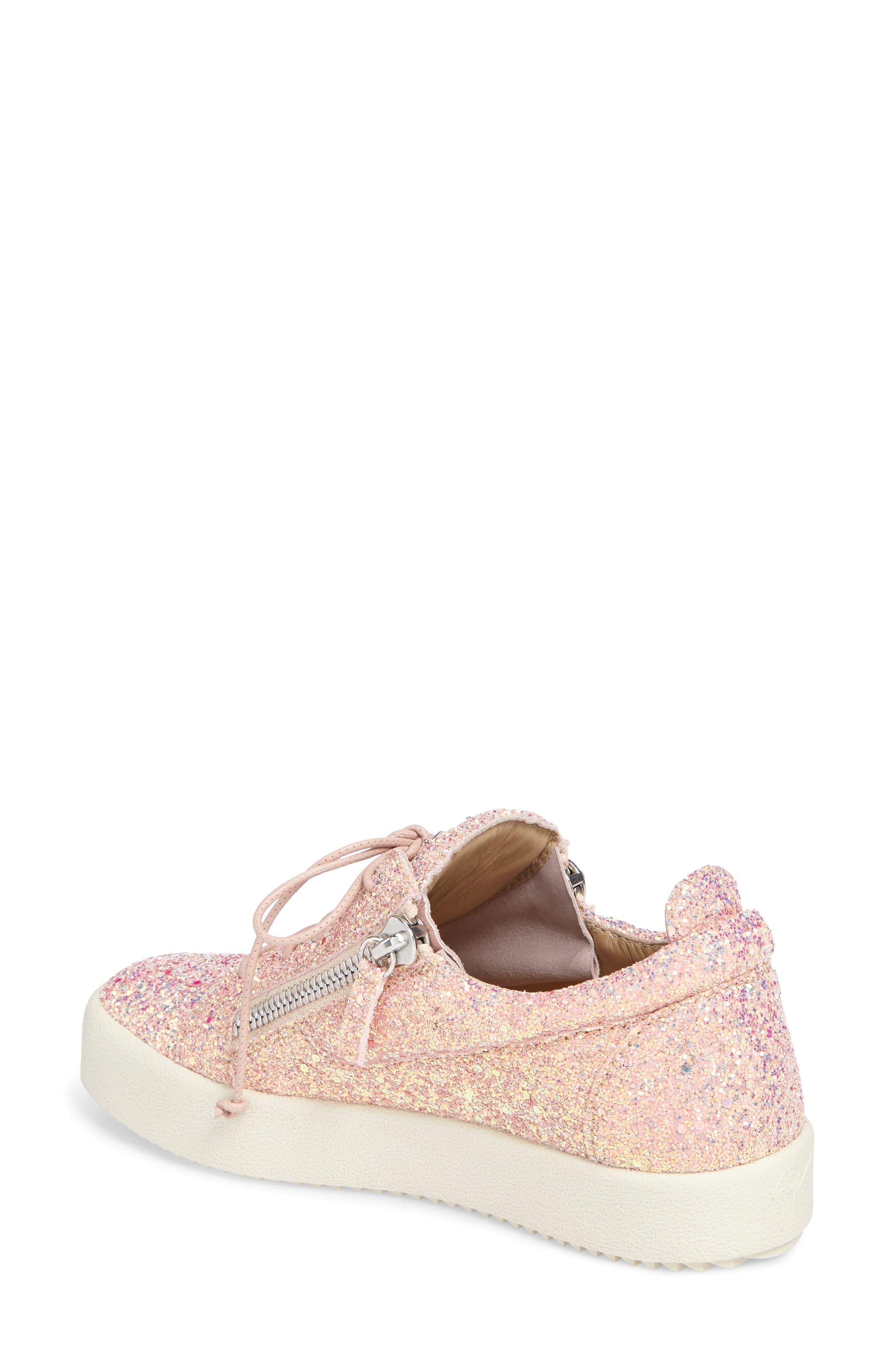 Alternate Image 2  - Giuseppe Zanotti May London Low Top Sneaker (Women)