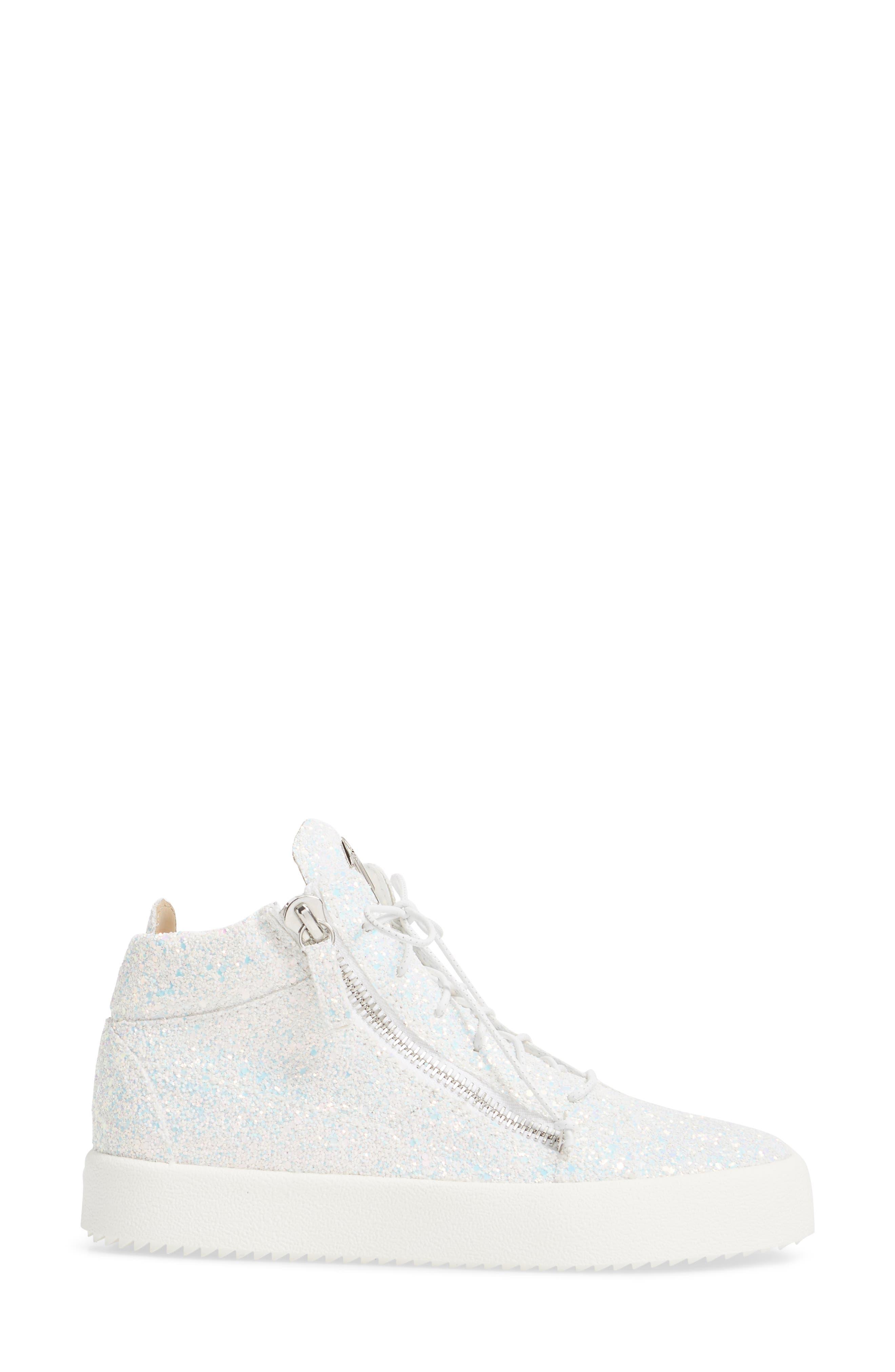 Alternate Image 3  - Giuseppe Zanotti May London High Top Sneaker (Women)