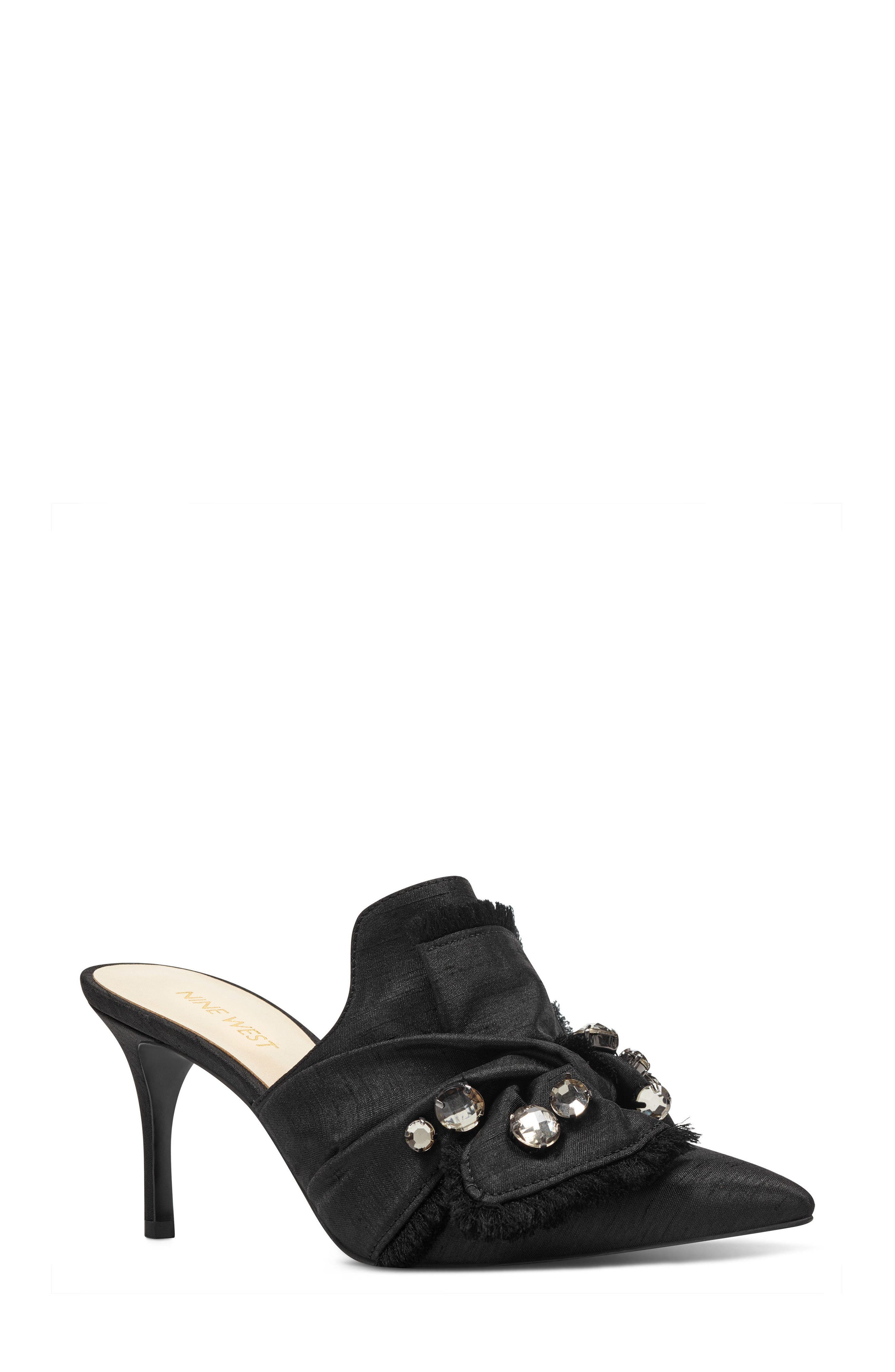 Nine West Macadamia Embellished Mule (Women)