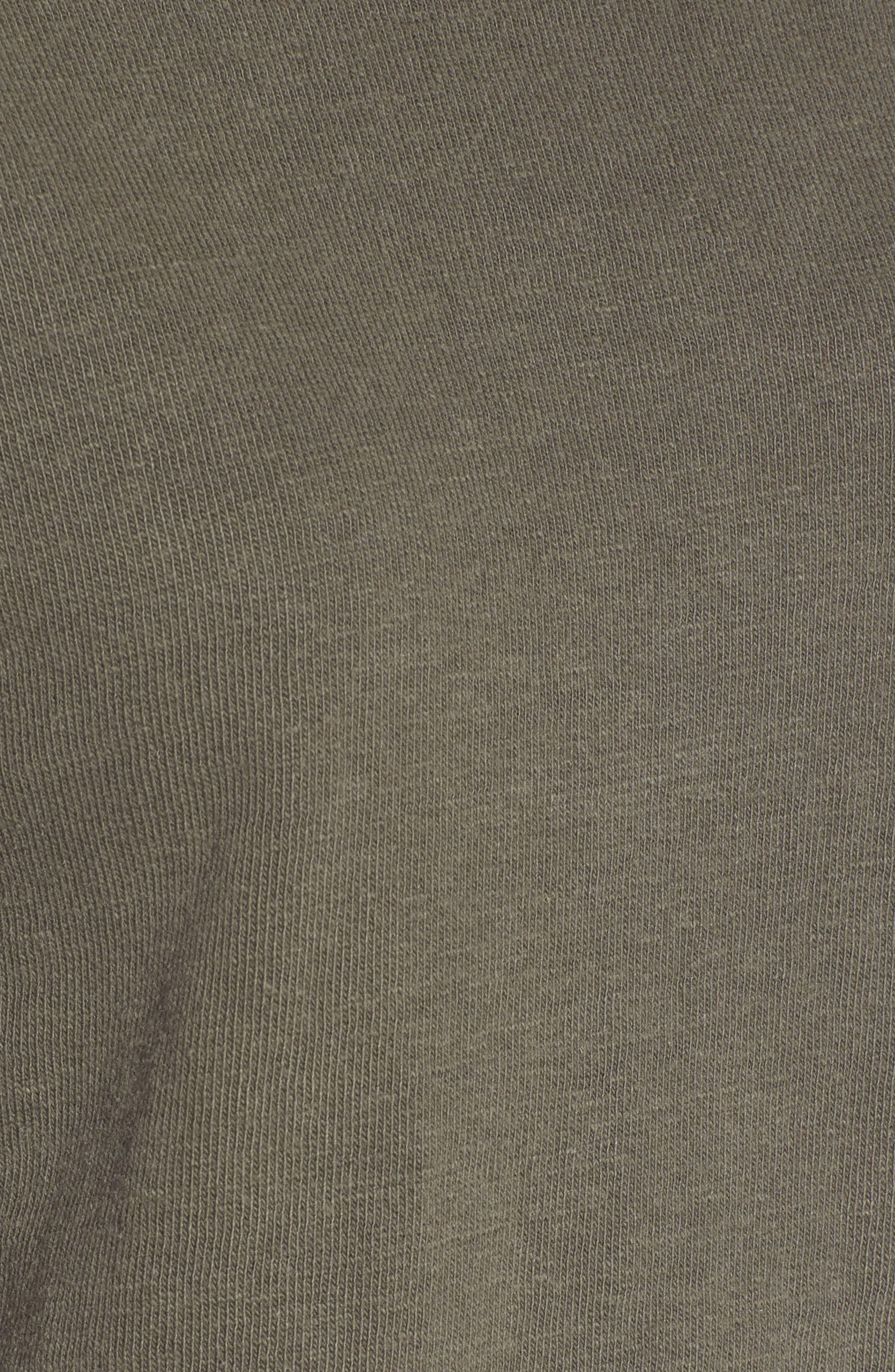 Alternate Image 5  - James Perse Distressed Sweatshirt