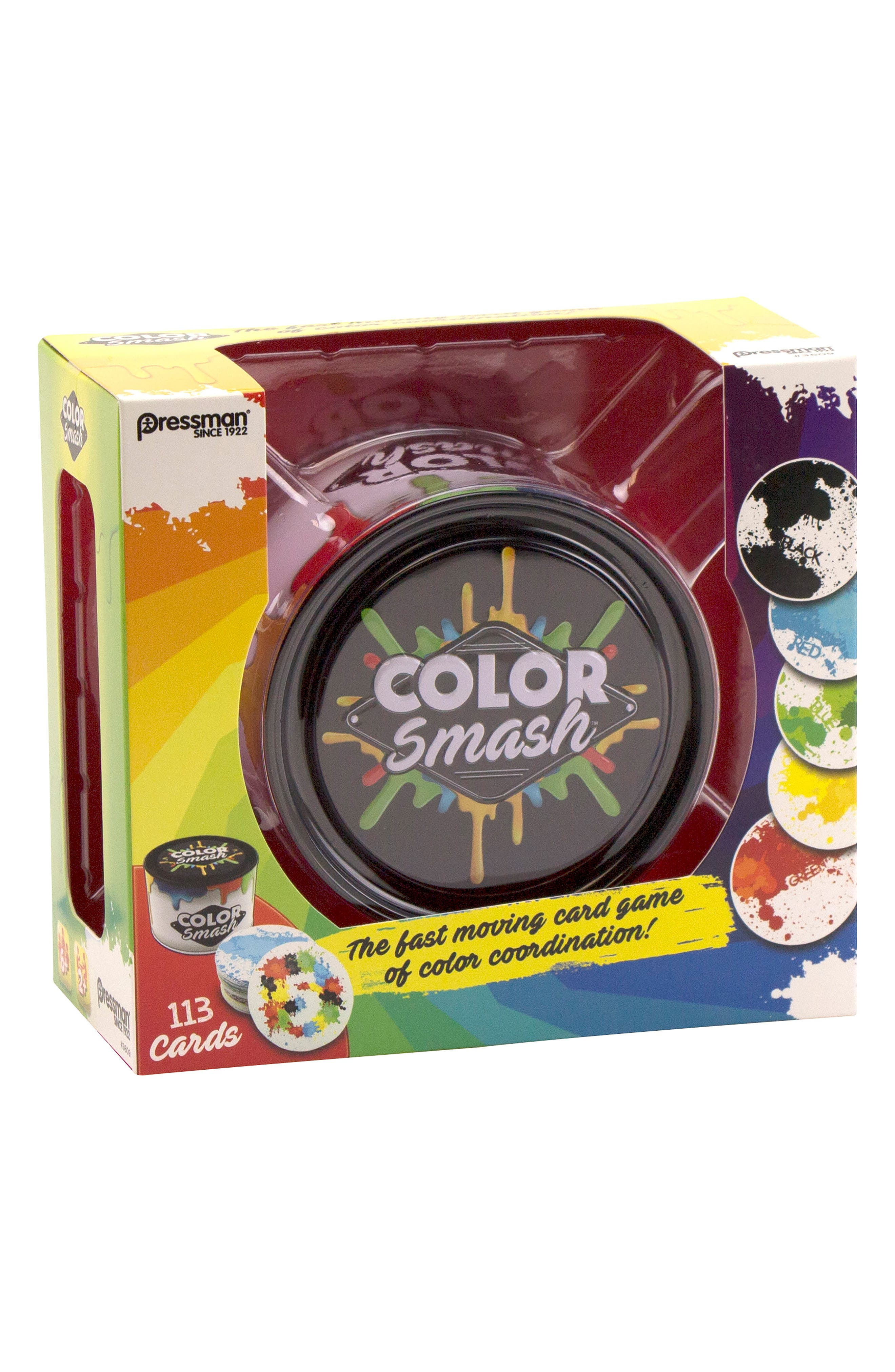 Color Smash Card Game,                         Main,                         color, Black