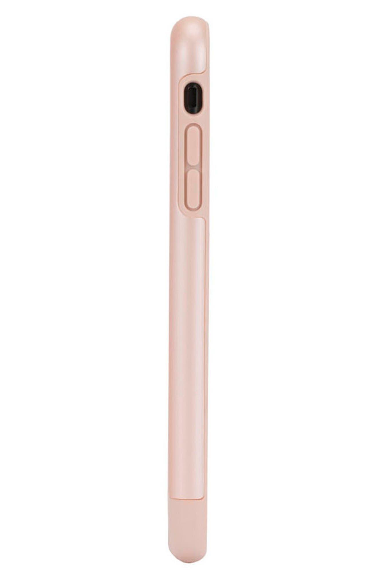 Dual Snap Case for iPhone 7 Plus/8 Plus,                             Alternate thumbnail 6, color,                             Rose Gold