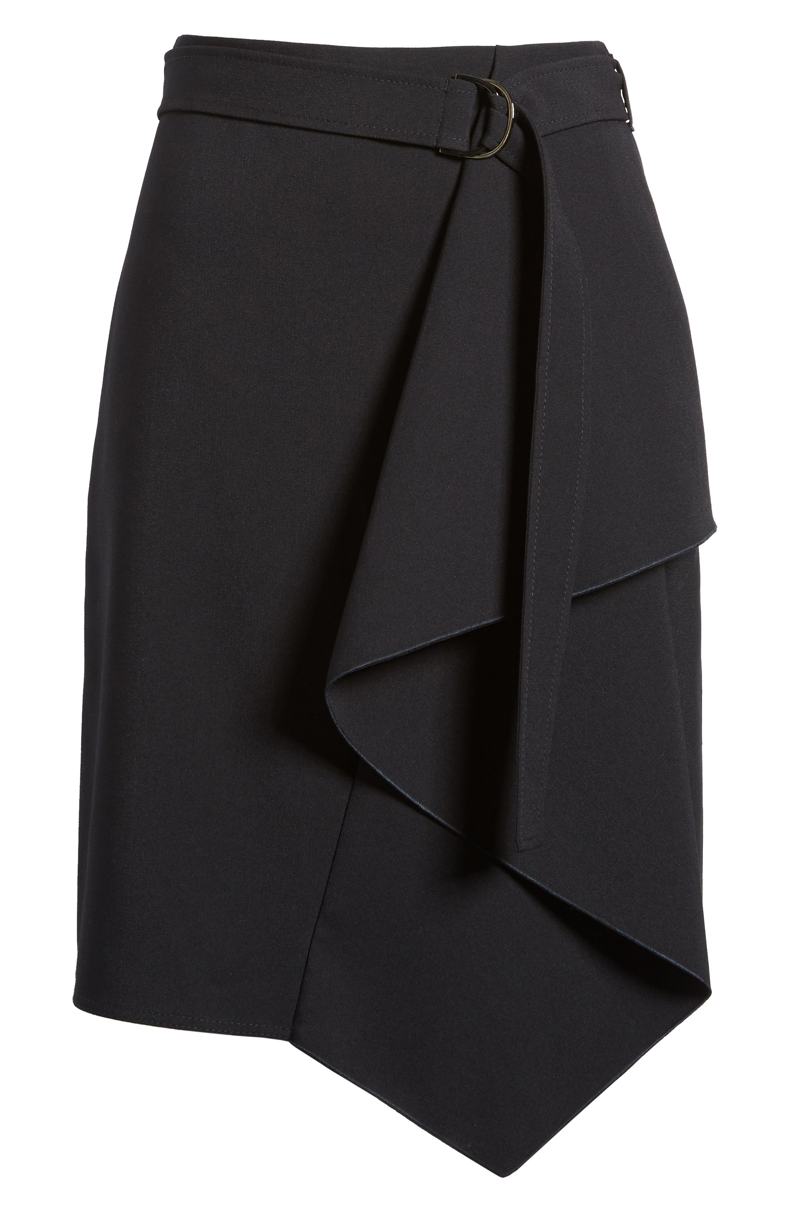 Mavea Skirt,                             Alternate thumbnail 6, color,                             Navy