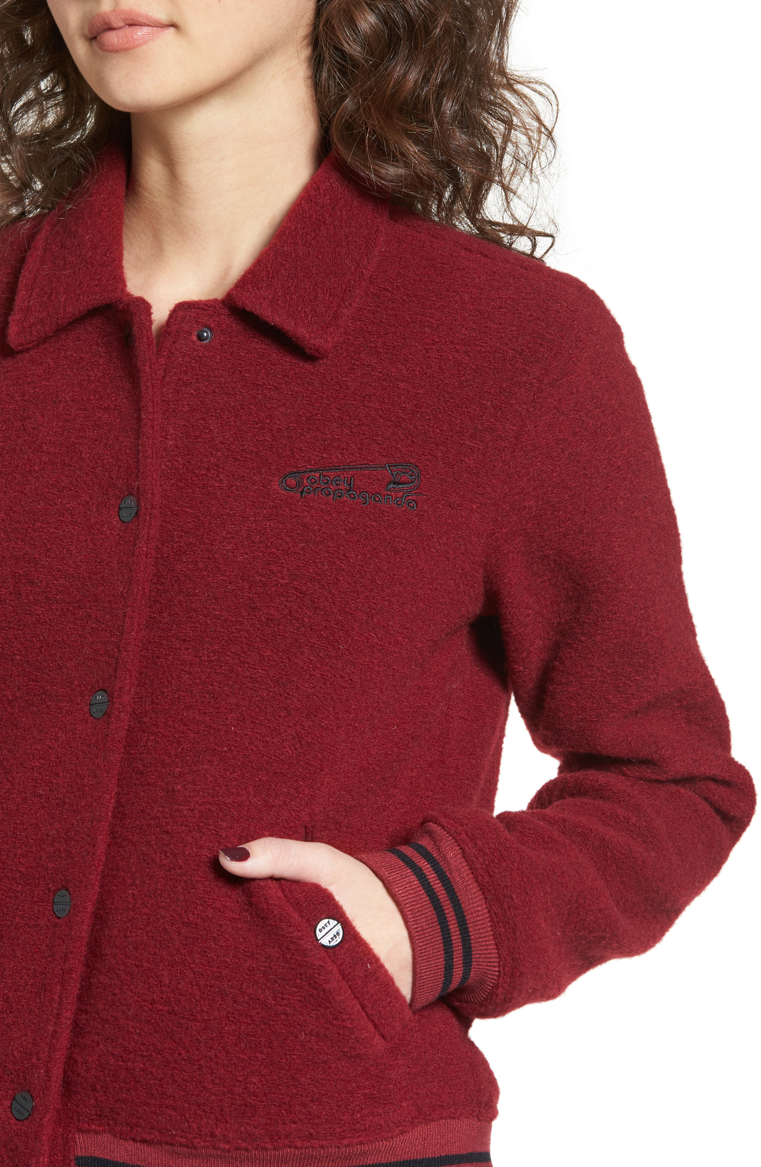 Alternate Image 4  - Obey Cambridge Jacket